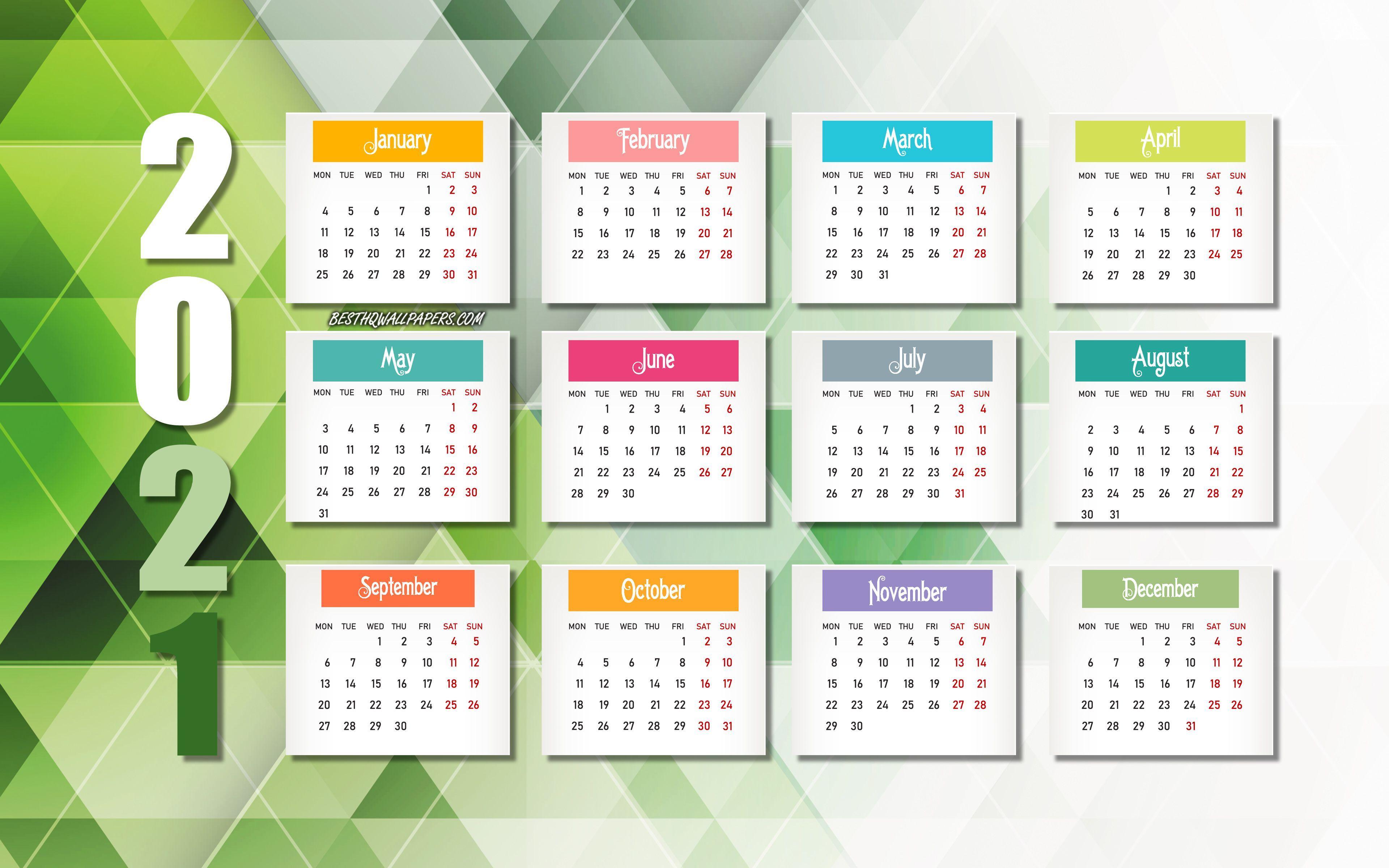 Free Desktop Calendar 2022.2021 Calendar Wallpapers Top Free 2021 Calendar Backgrounds Wallpaperaccess
