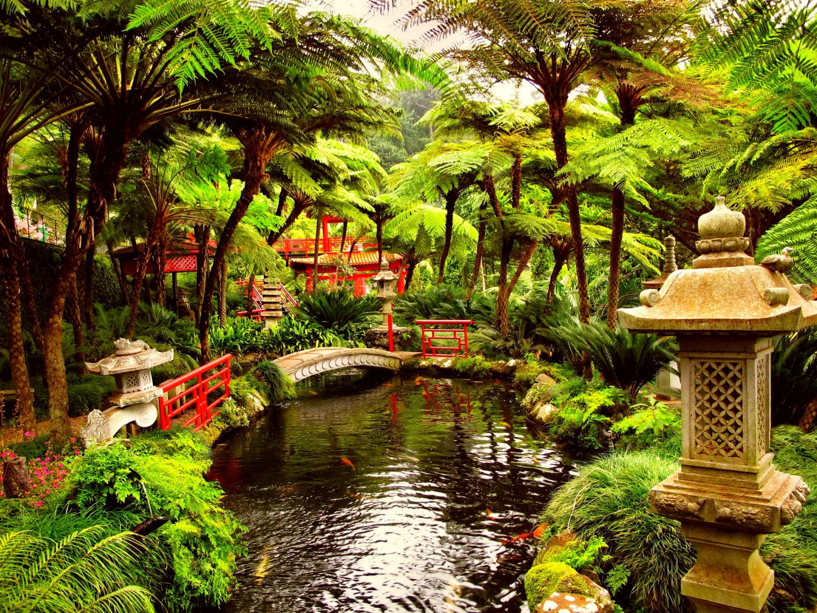 Japanese Tea Garden Wallpapers Top Free Japanese Tea Garden Backgrounds Wallpaperaccess