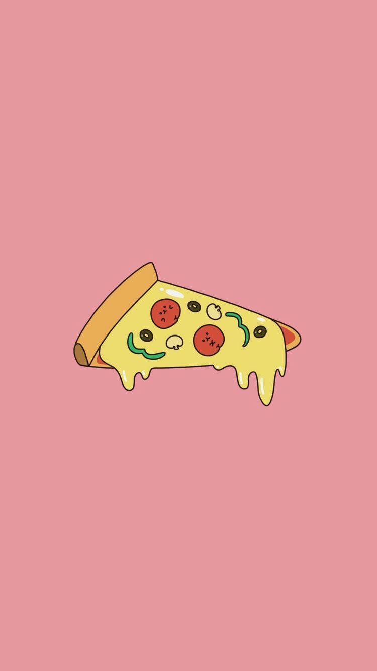 Kawaii Pizza Wallpapers Top Free Kawaii Pizza Backgrounds