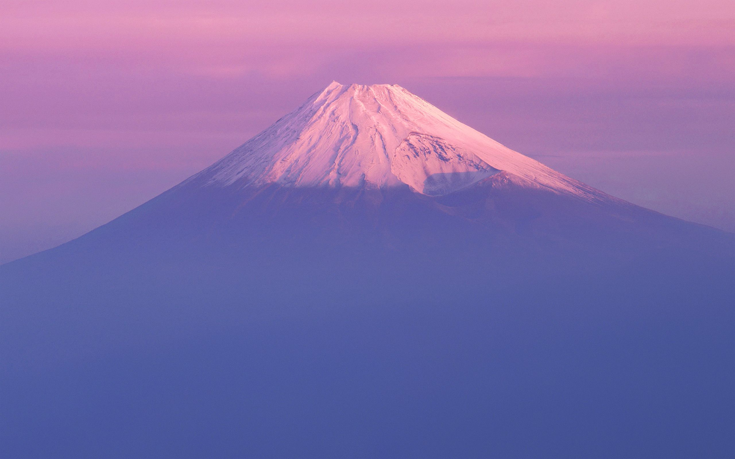 Hình nền 2560x1600 Mac OS X 10.7 Lion Fuji Mountain