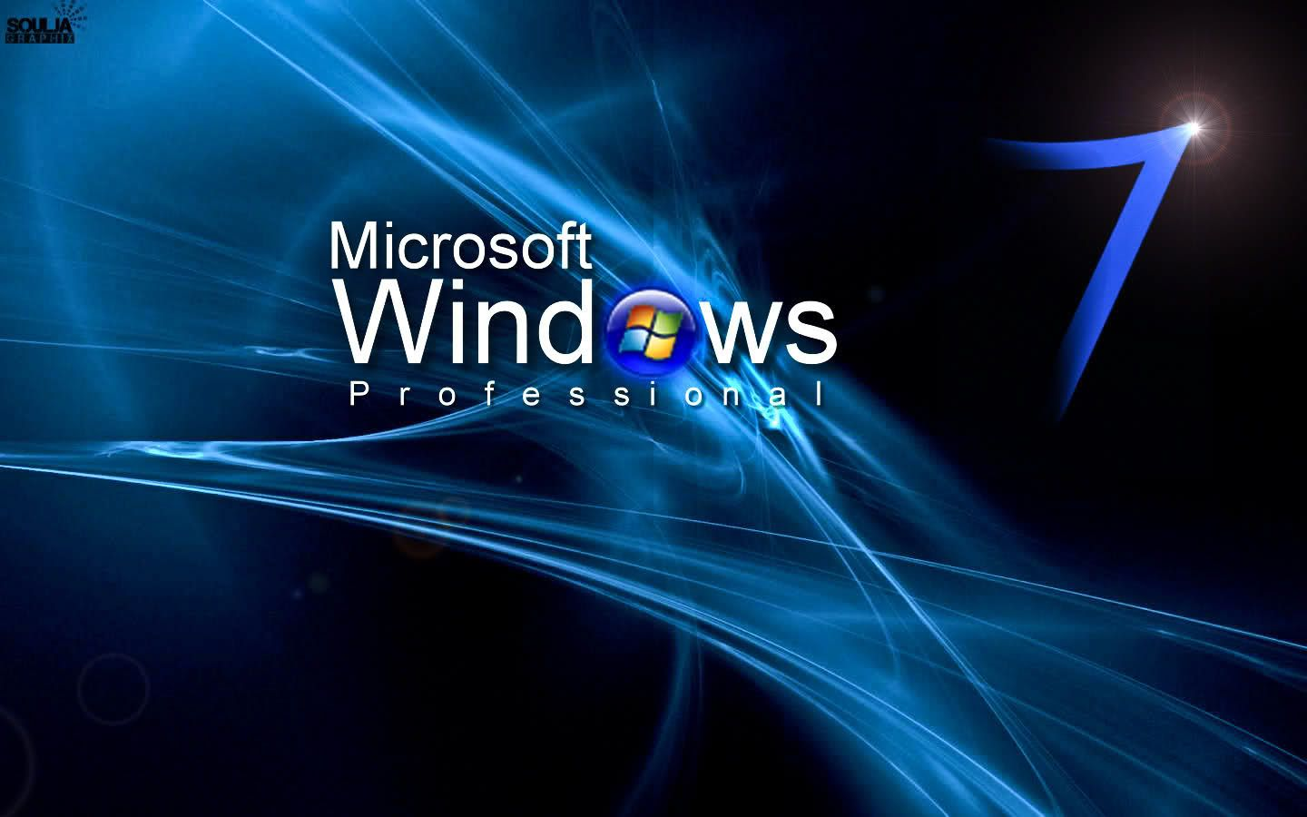 Technology Management Image: Windows 7 Professional Wallpapers
