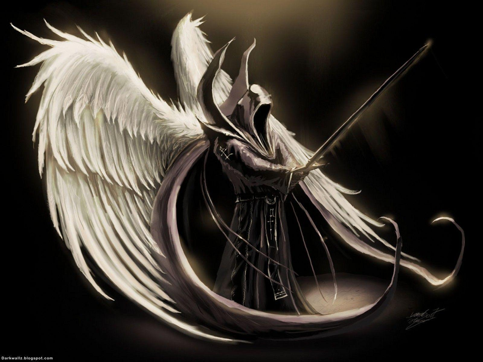Black Angel Wallpapers Top Free Black Angel Backgrounds