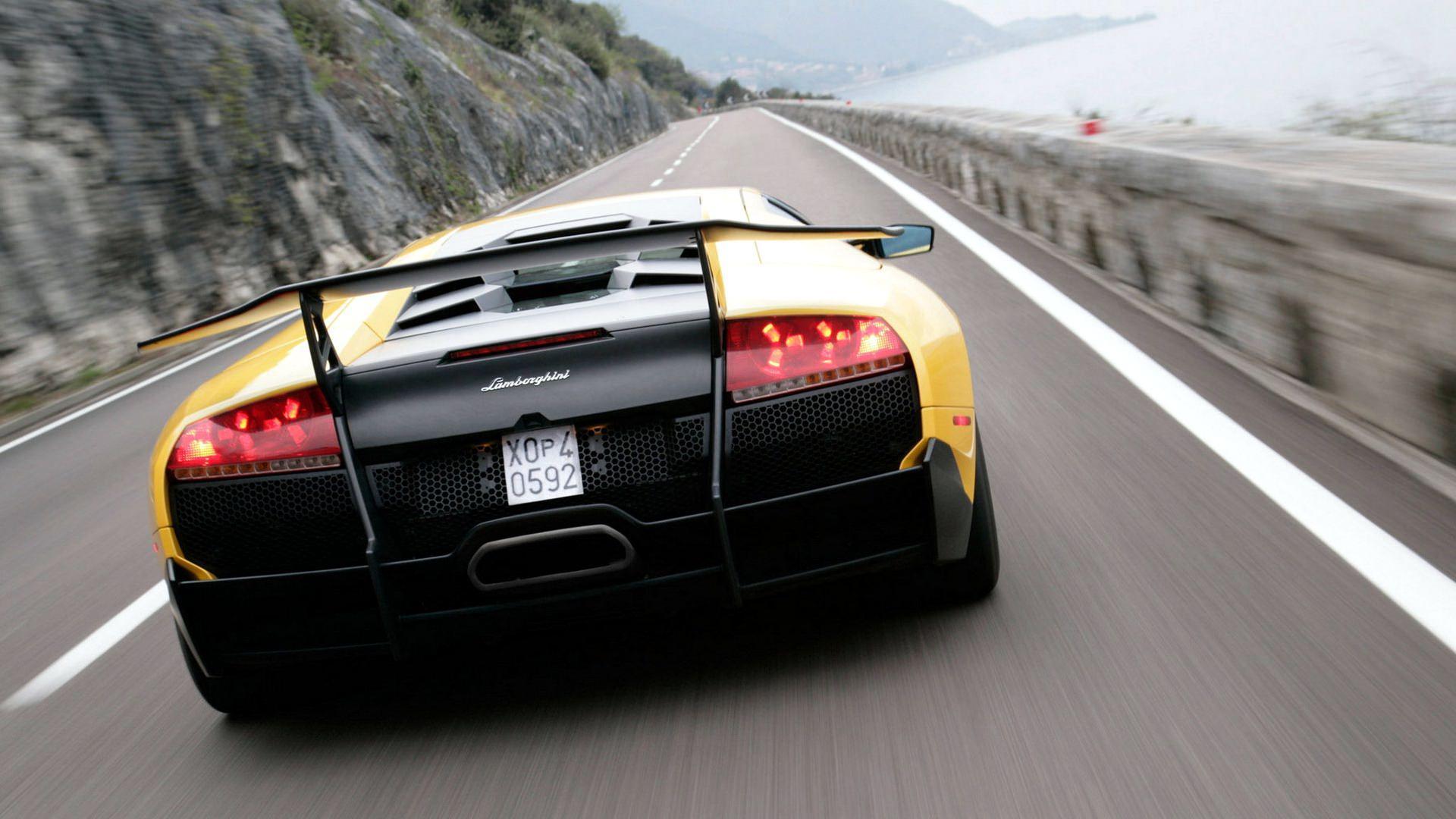 Lamborghini Murcielago Lp Sv Front Jackdarton Glare Night