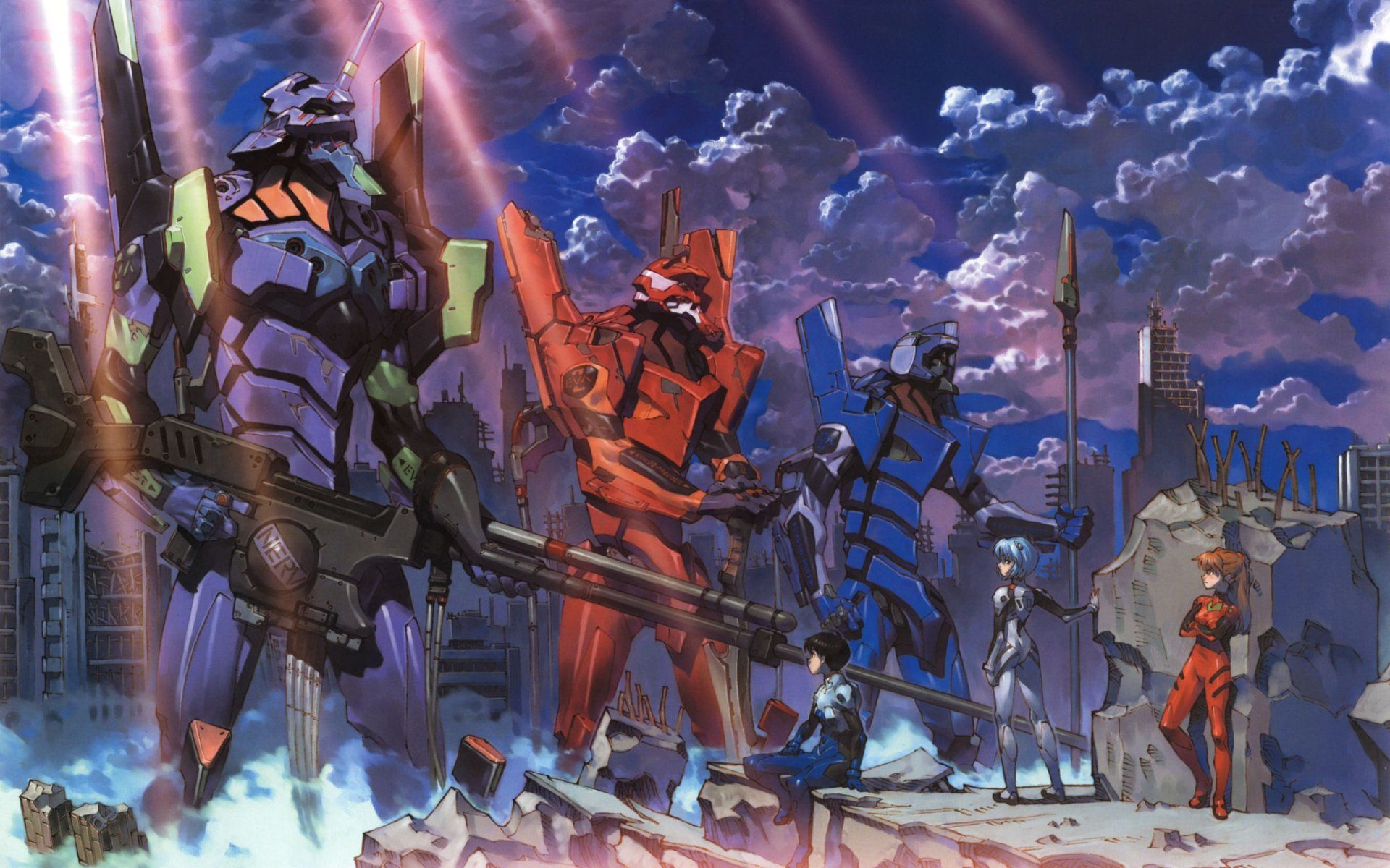 Neon Genesis Evangelion Wallpapers Top Free Neon Genesis
