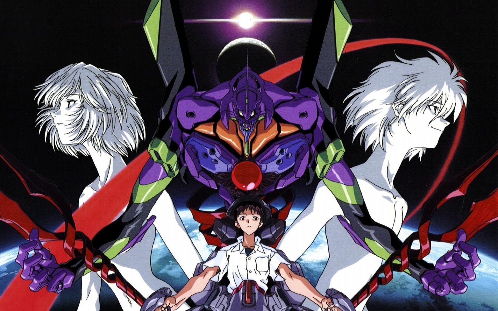 Neon Genesis Evangelion Desktop Wallpapers Top Free Neon