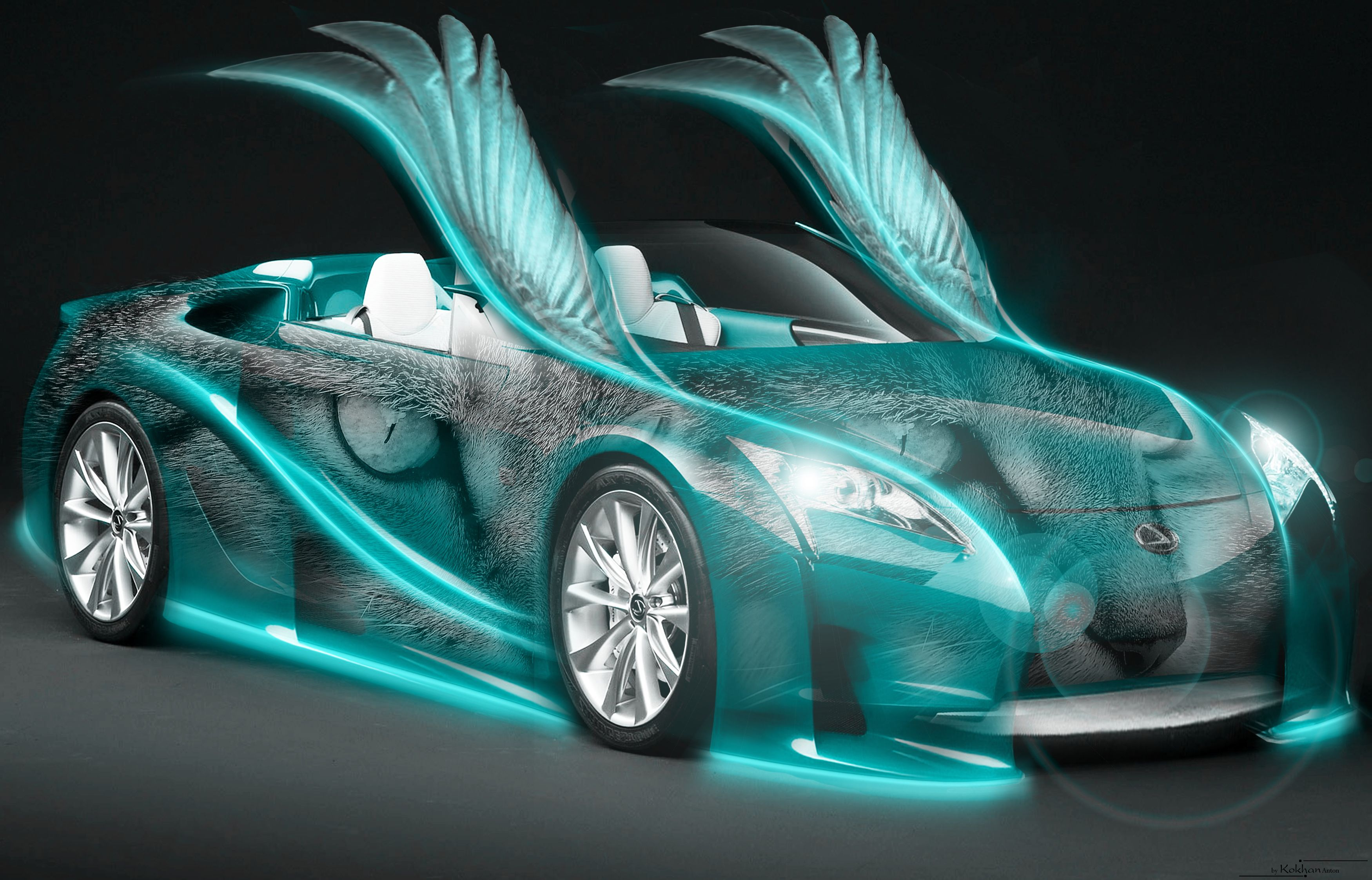 Cool Neon Cars Wallpapers Top Free Cool Neon Cars Backgrounds