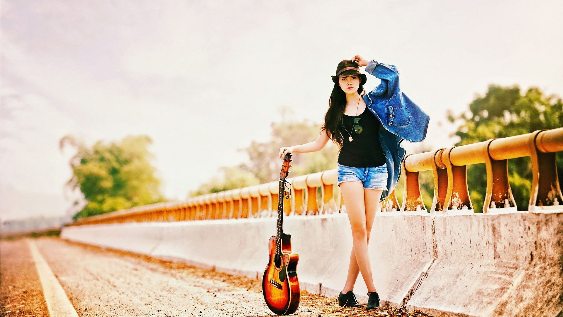 Girls Guitars 1920X1080 HD Wallpapers ...