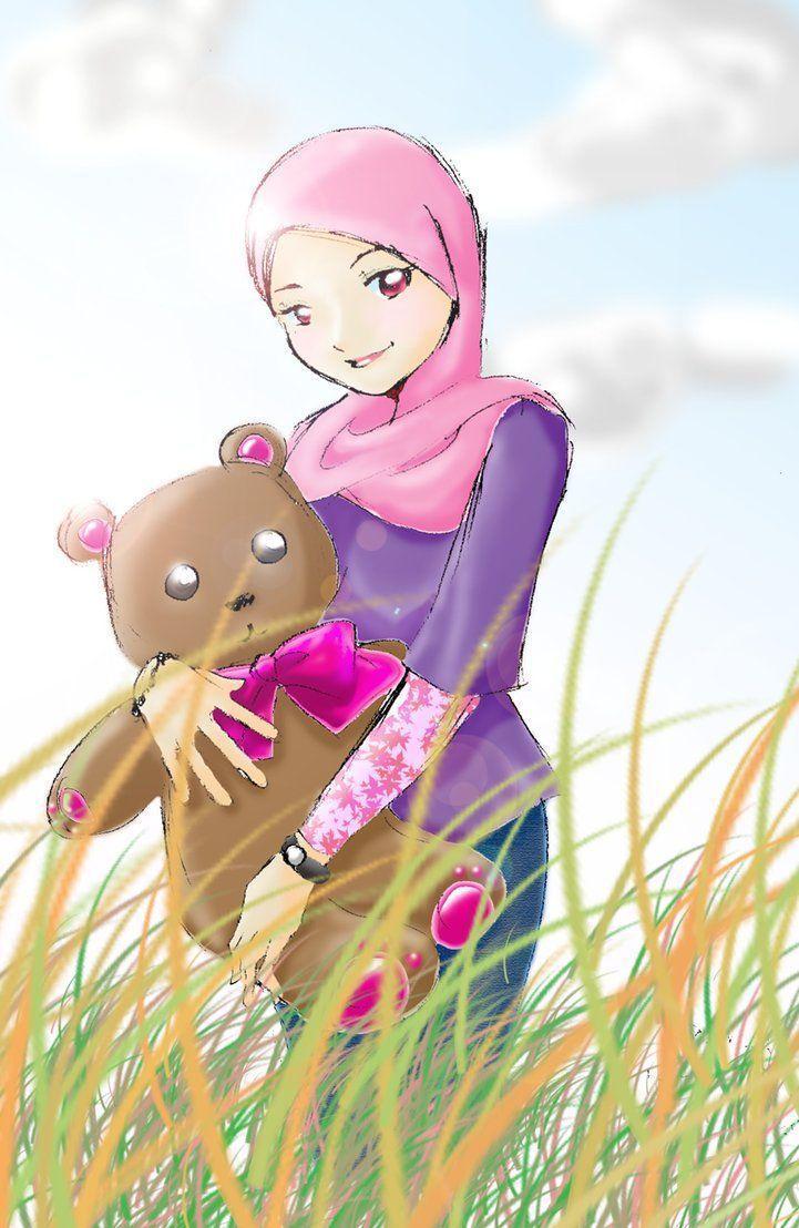 Muslim Girl Cartoon Wallpapers - Top Free Muslim Girl