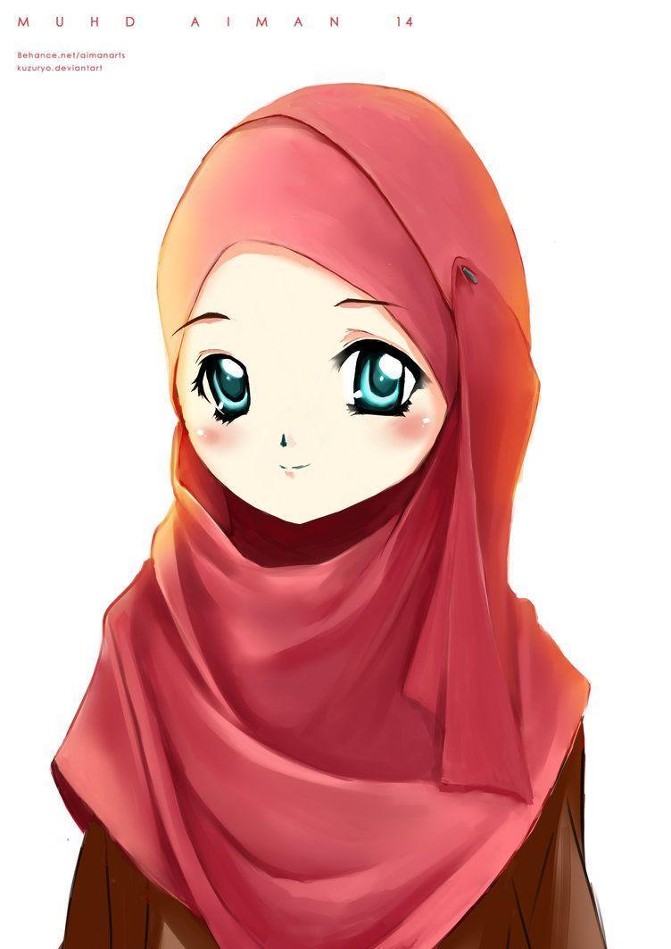Download 440 Koleksi Wallpaper Animasi Hijab HD Paling Keren