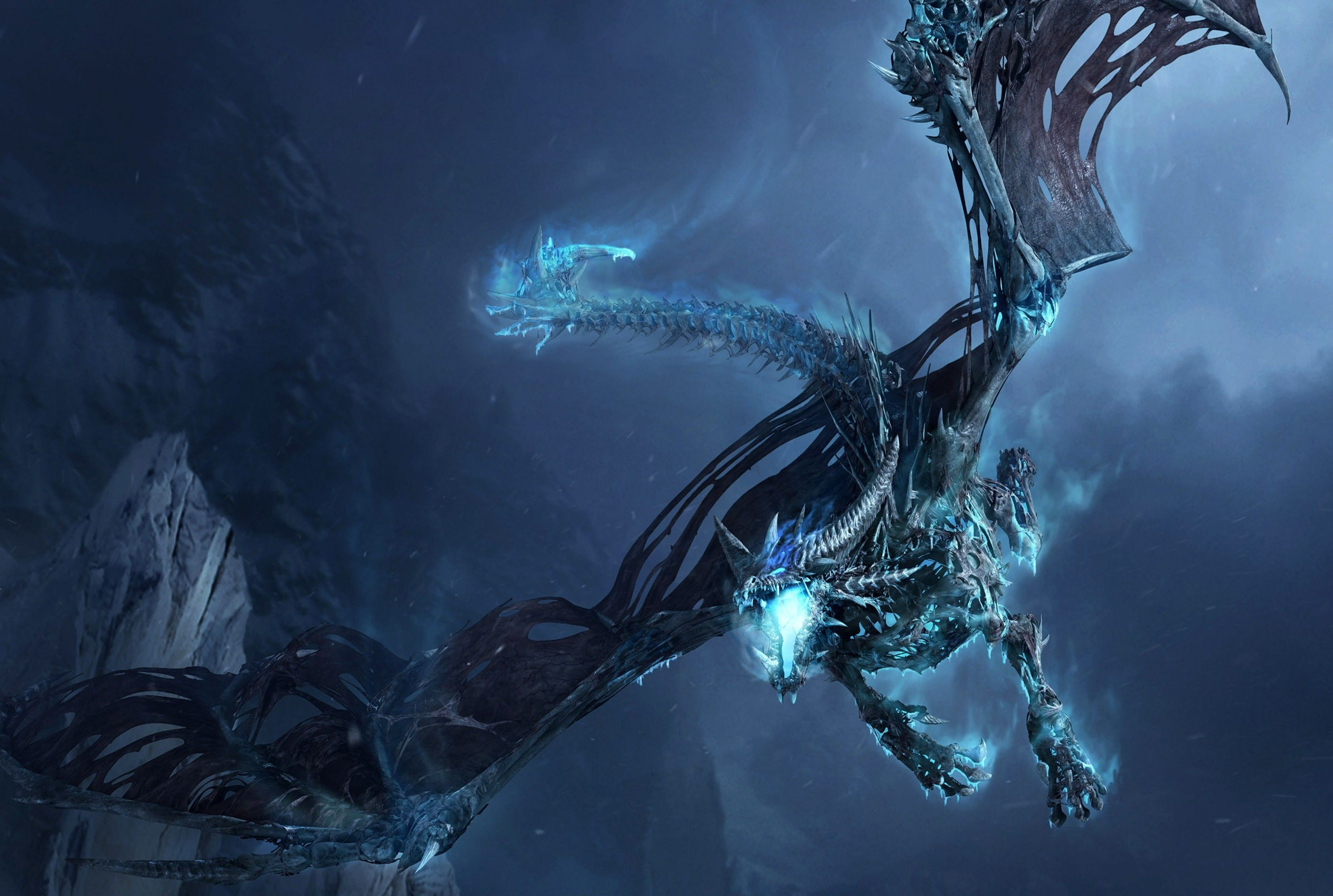 Blue Lightning Dragon Wallpapers Top Free Blue Lightning Dragon Backgrounds Wallpaperaccess