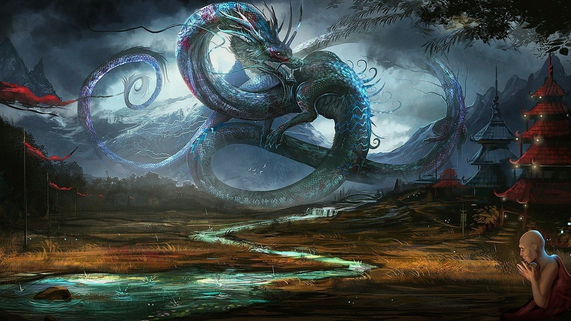 Eastern Dragon Wallpapers Top Free Eastern Dragon Backgrounds Wallpaperaccess