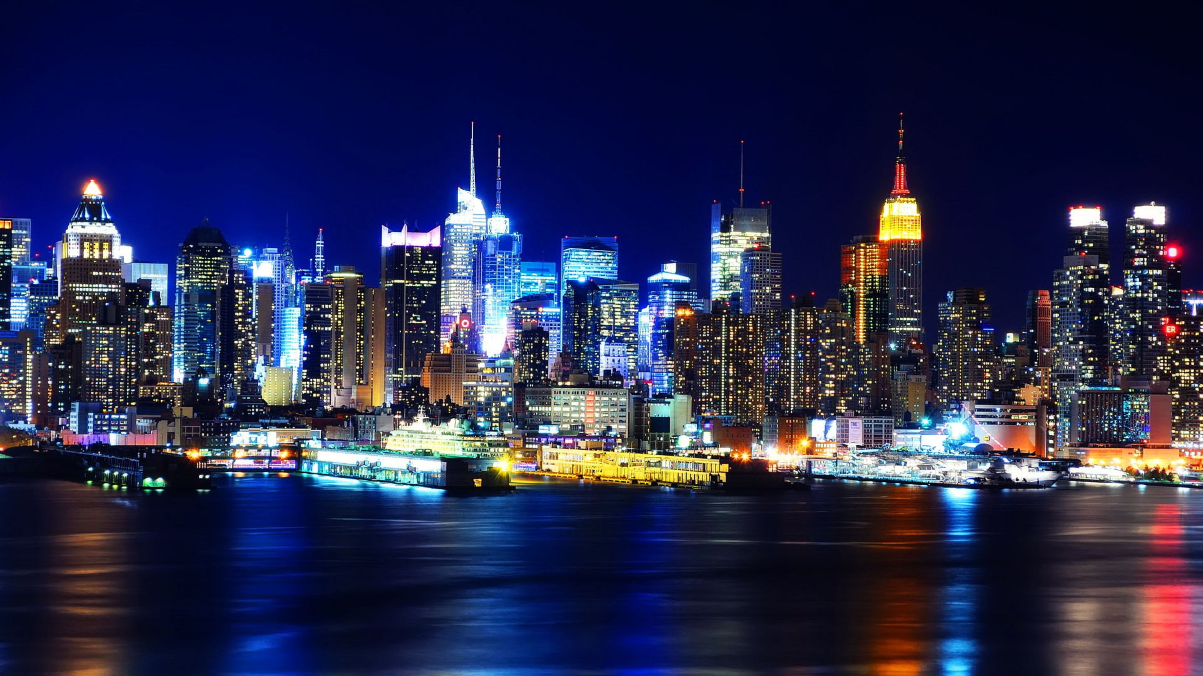 New York 4k Wallpapers Top Free New York 4k Backgrounds Wallpaperaccess