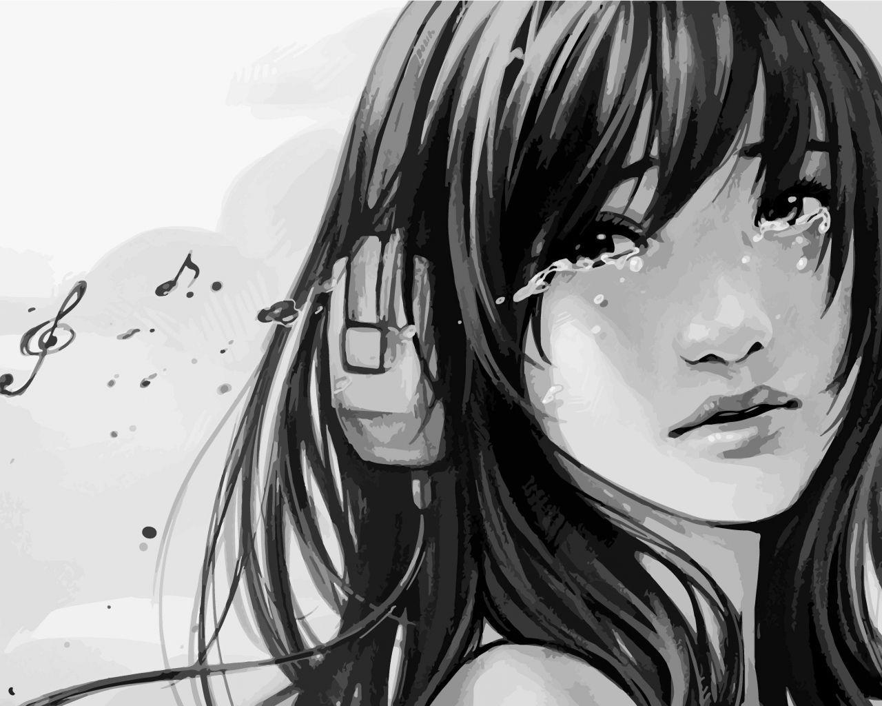 View Depressed Anime Sad Drawings Gif