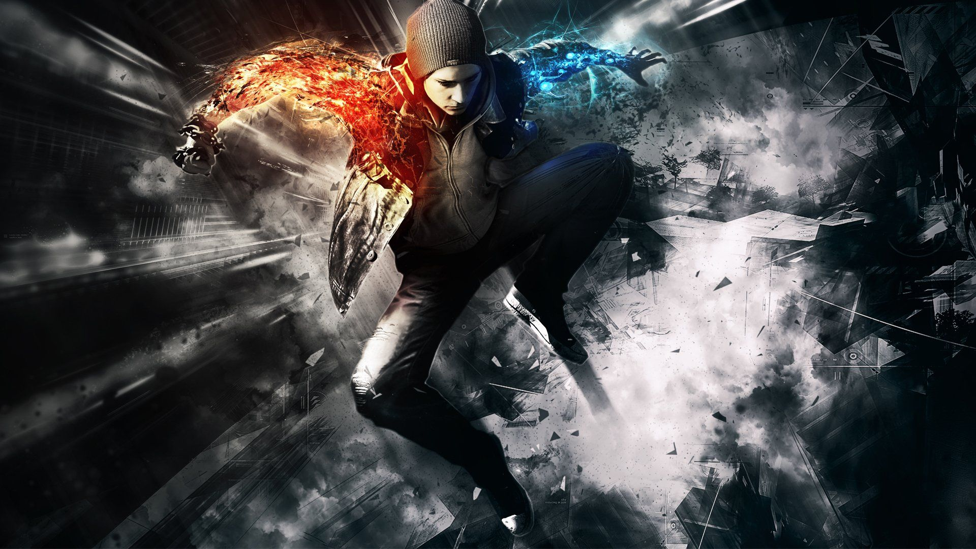 Infamous Second Son Wallpapers Top Free Infamous Second Son