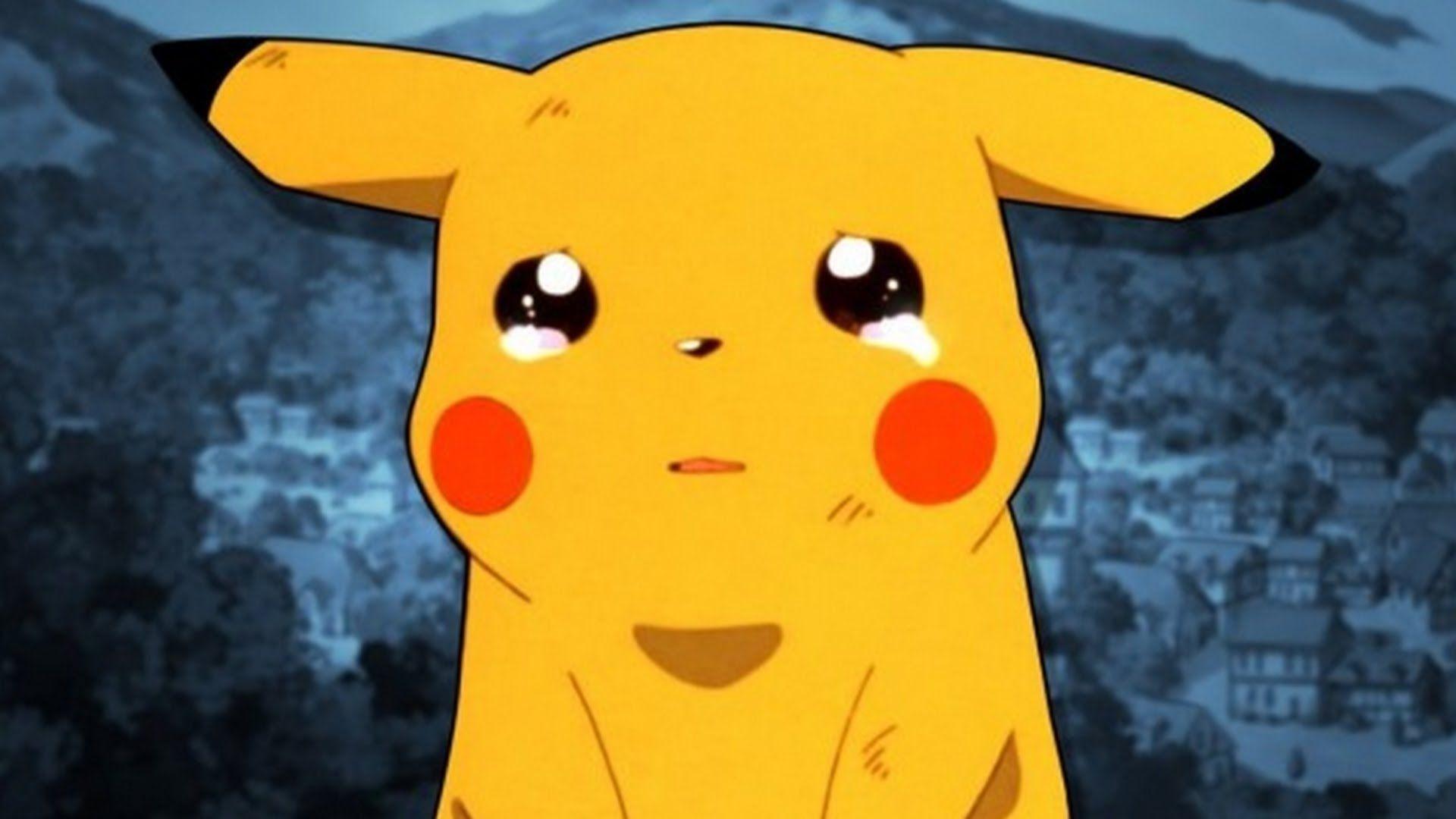 Crying Pikachu Wallpapers - Top Free Crying Pikachu ...