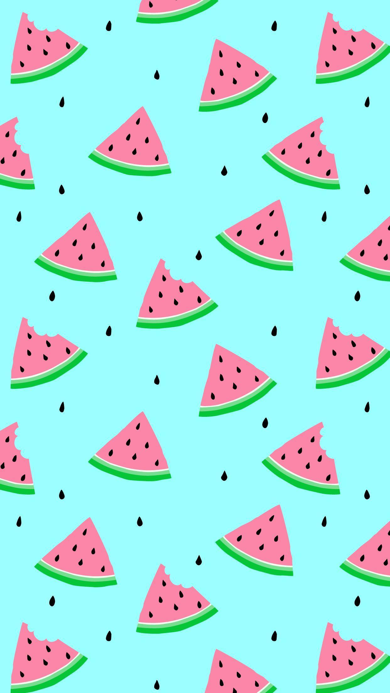 Cartoon Watermelon Wallpapers - Top Free Cartoon ...