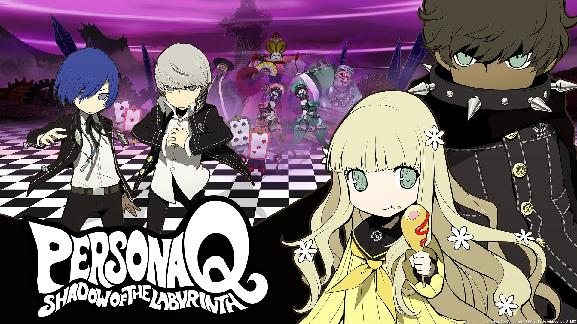 Persona Q Wallpapers Top Free Persona Q Backgrounds Wallpaperaccess