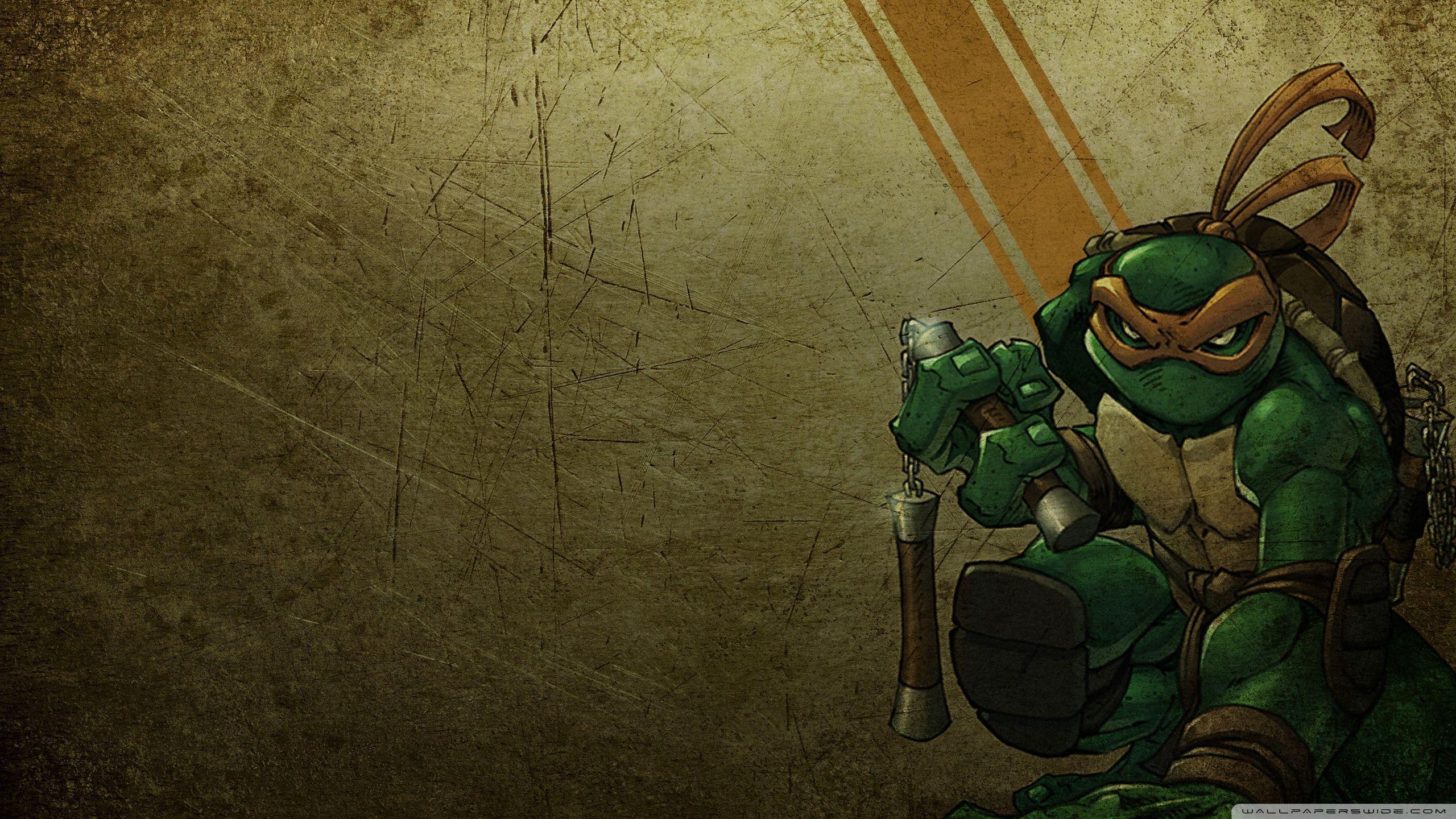 Michelangelo wallpapers top free michelangelo backgrounds wallpaperaccess - Ninja turtles wallpaper ...