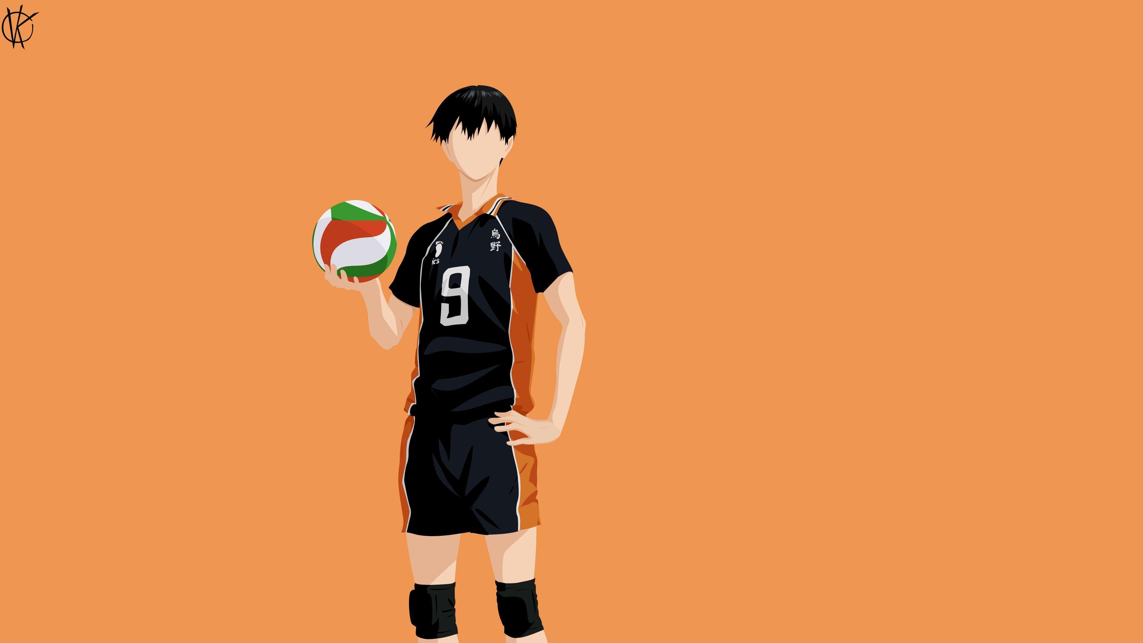 Hình nền Anime HD 3840x2160 Haikyu Tobio Kageyama 4K 5K