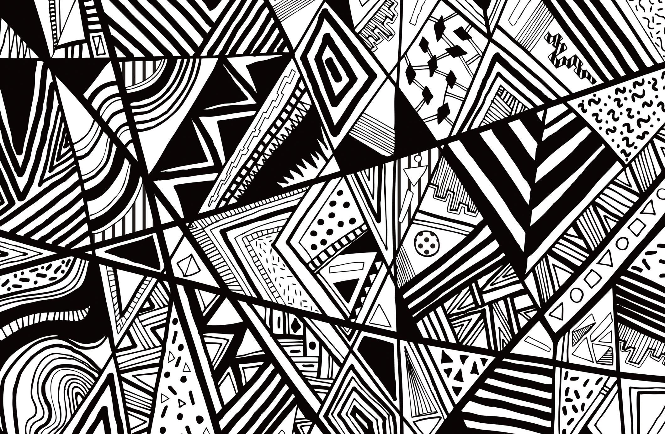 Black And White Abstract Wallpapers Top Free Black And White