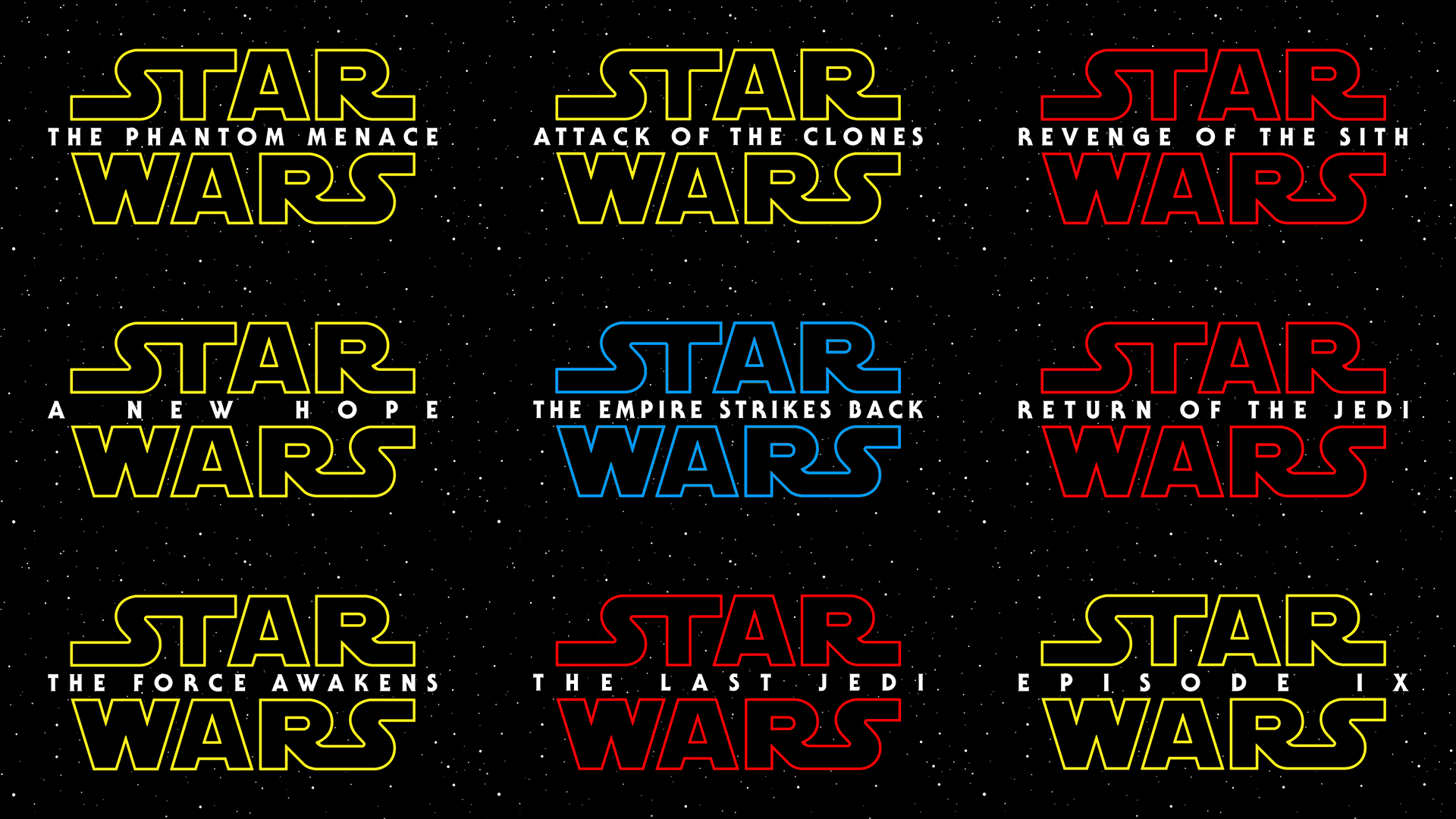 Star Wars Logo Wallpapers Top Free Star Wars Logo Backgrounds
