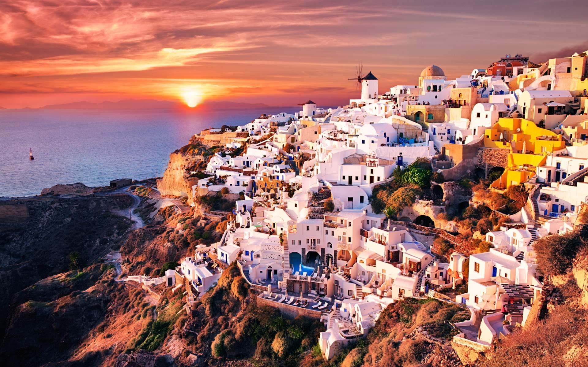 34 Best Free Greece 4K Wallpapers