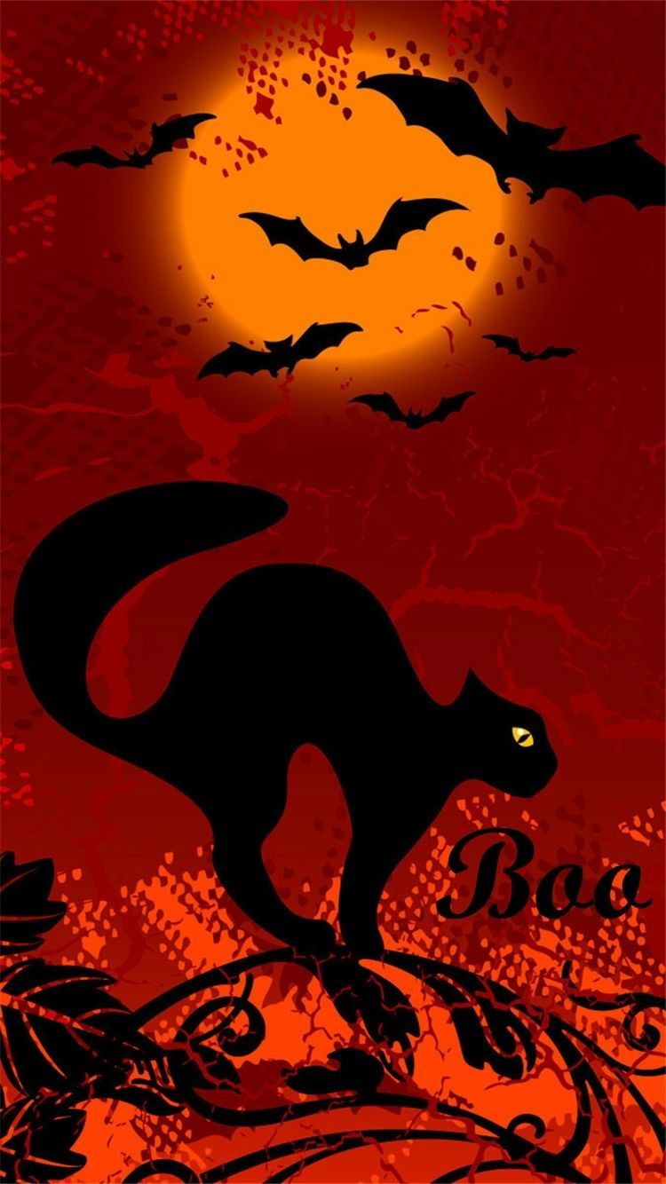 Halloween Cat Wallpapers - Top Free ...