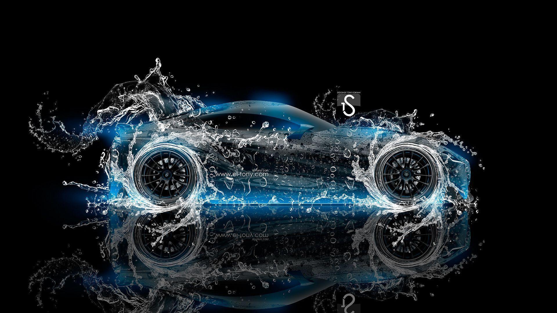 1920x1080 Water Cars hình nền