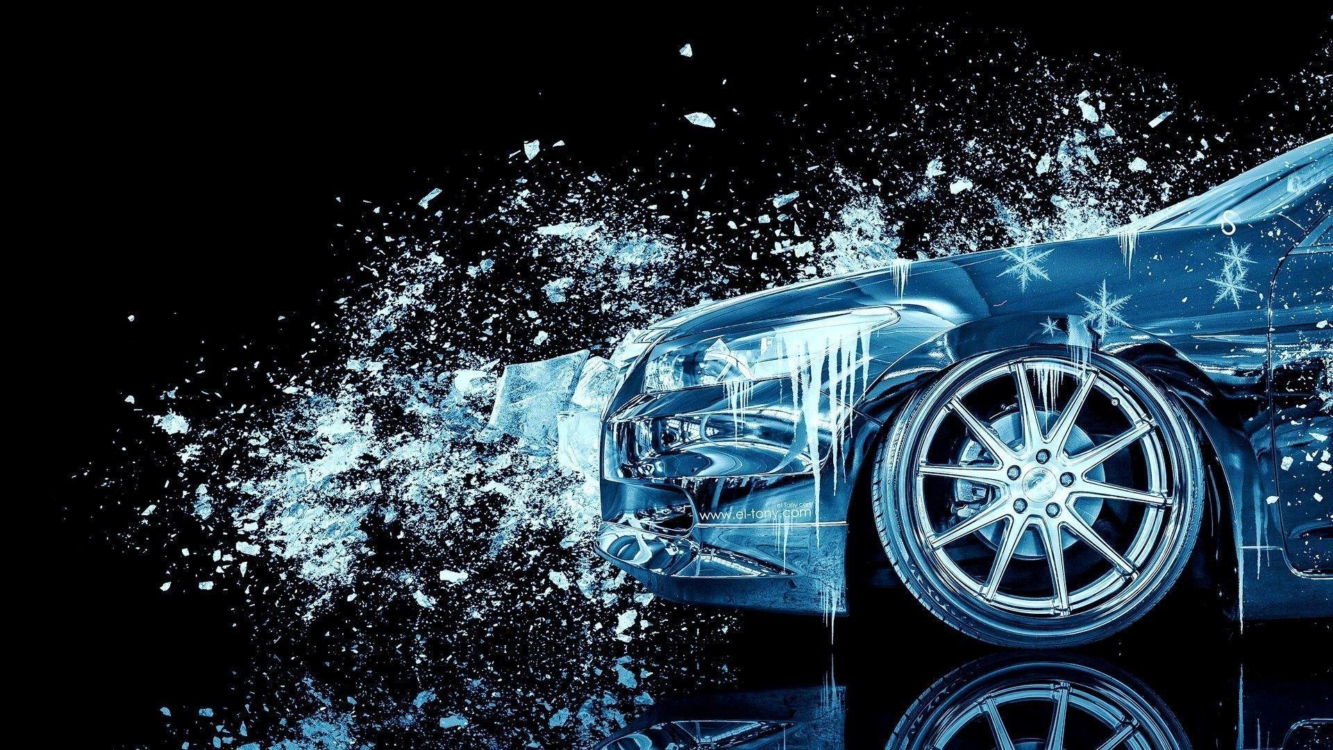 1920x1080 Design Talent Showcase Mang yếu tố gợi cảm Lửa và Nước vào Hình nền ô tô 10 của BẠN