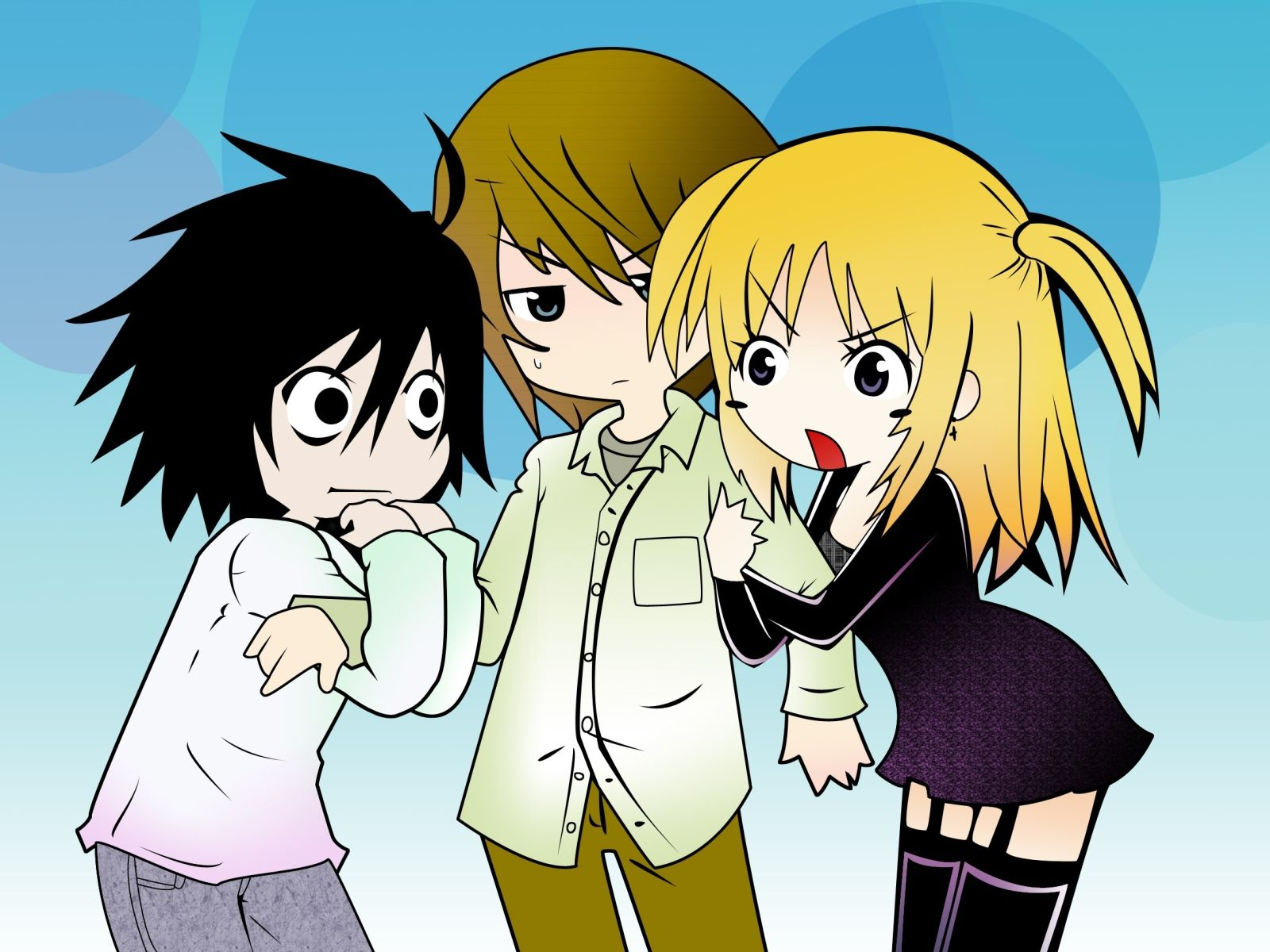 Death Note Chibi Wallpapers Top Free Death Note Chibi