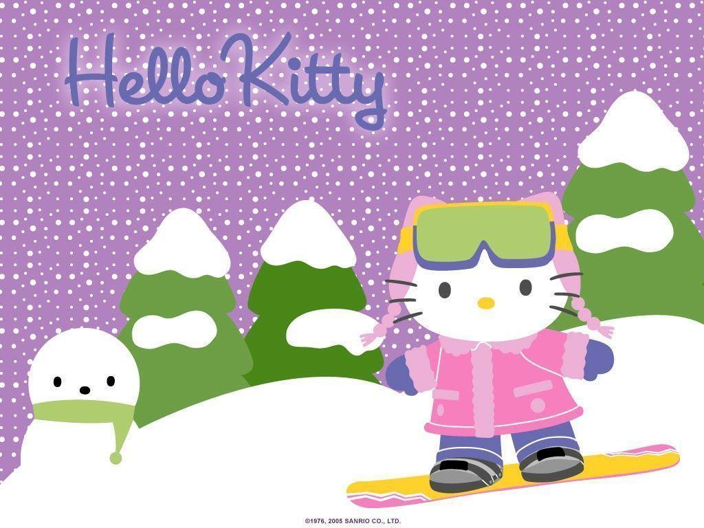 hello kitty ausmalbilder winter  pin auf ausmalbilder