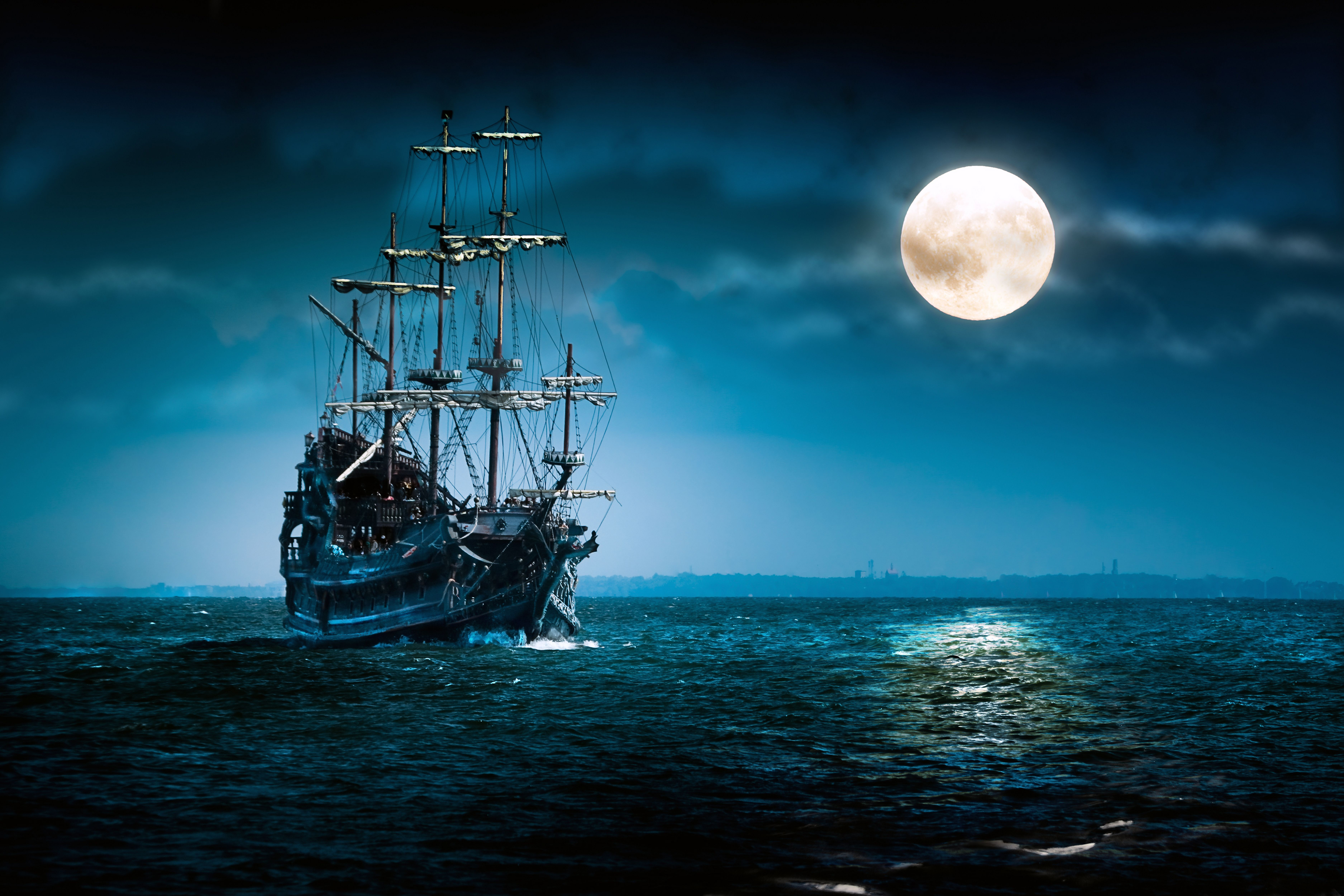 Ships At Night Wallpapers Top Free Ships At Night