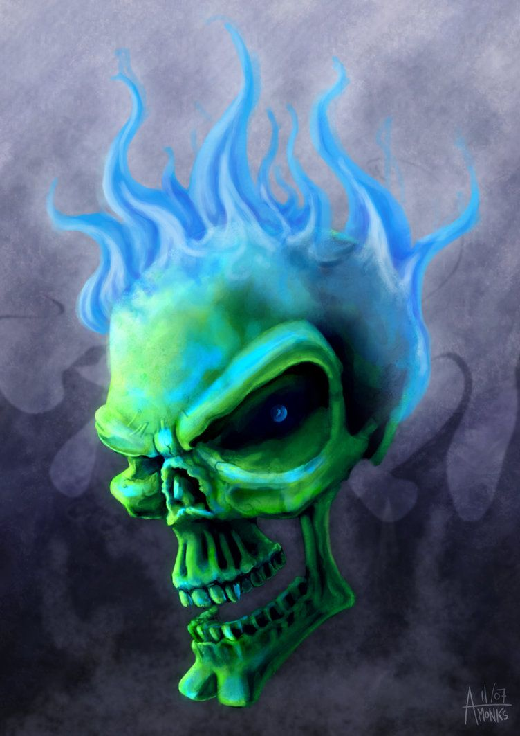 Flaming Skull Wallpapers - Top Free Flaming Skull
