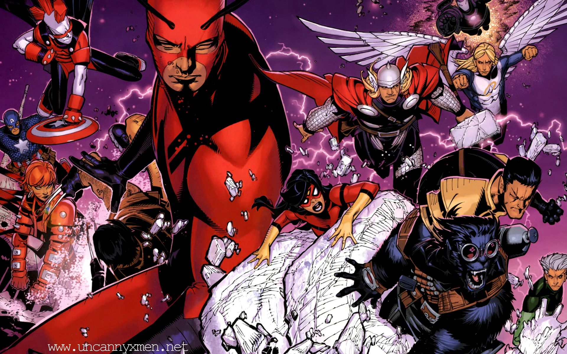Uncanny X Men Hd: Uncanny X-Force Comic Wallpapers