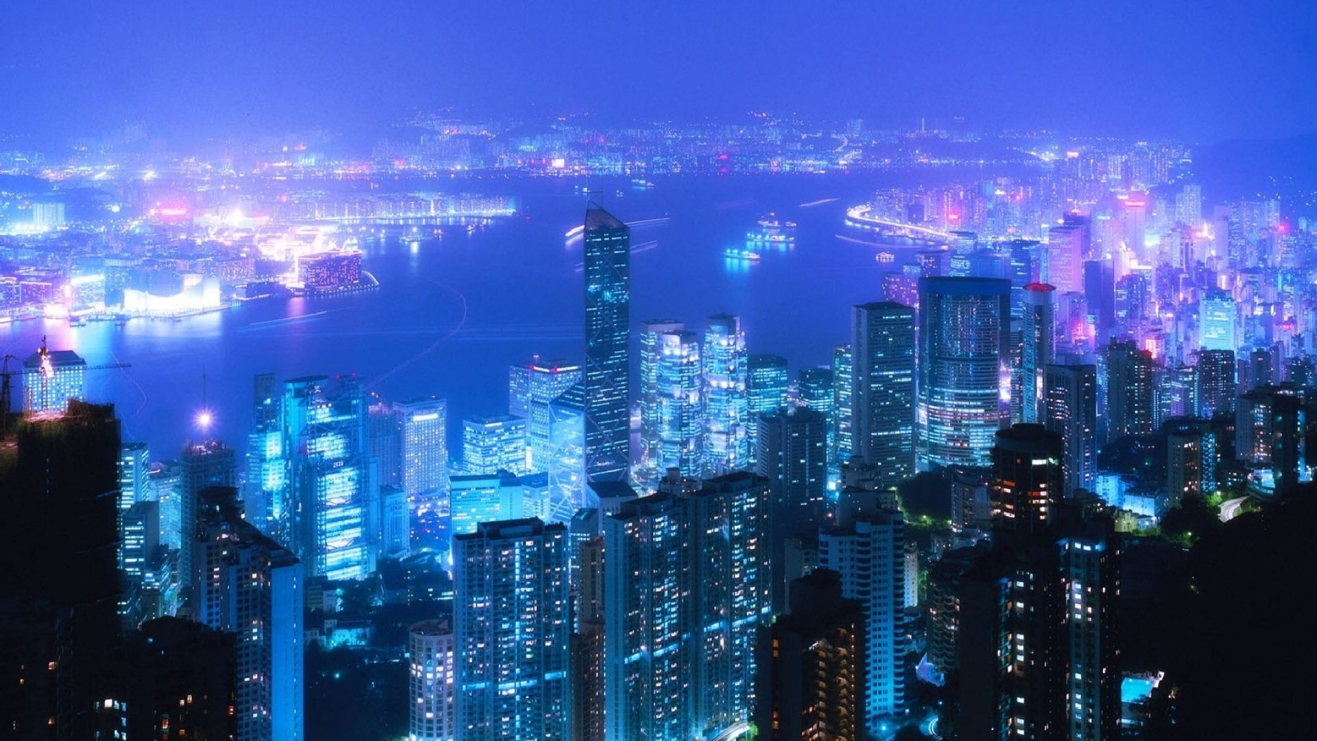 City At Night Wallpapers Top Free City At Night Backgrounds Wallpaperaccess