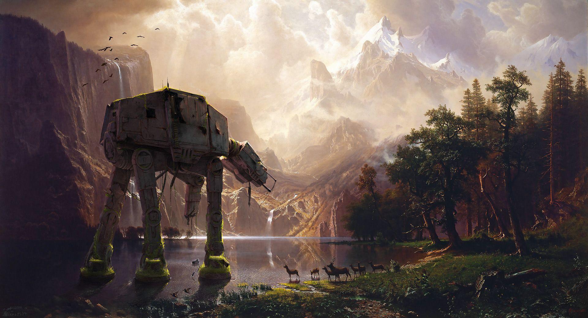 At At Star Wars Wallpapers Top Free At At Star Wars Backgrounds Wallpaperaccess