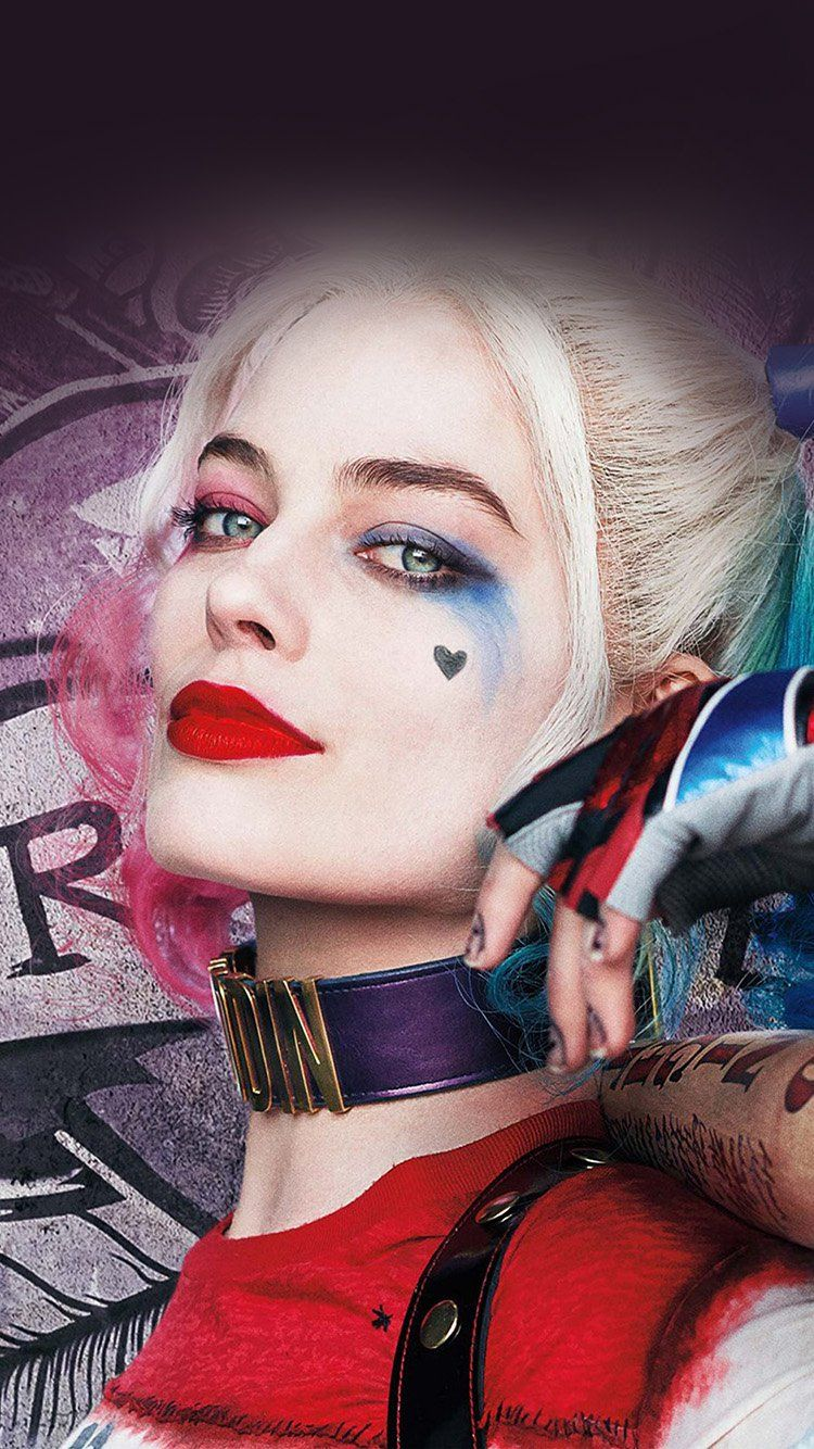 Harley Quinn Iphone Wallpapers Top Free Harley Quinn Iphone Backgrounds Wallpaperaccess