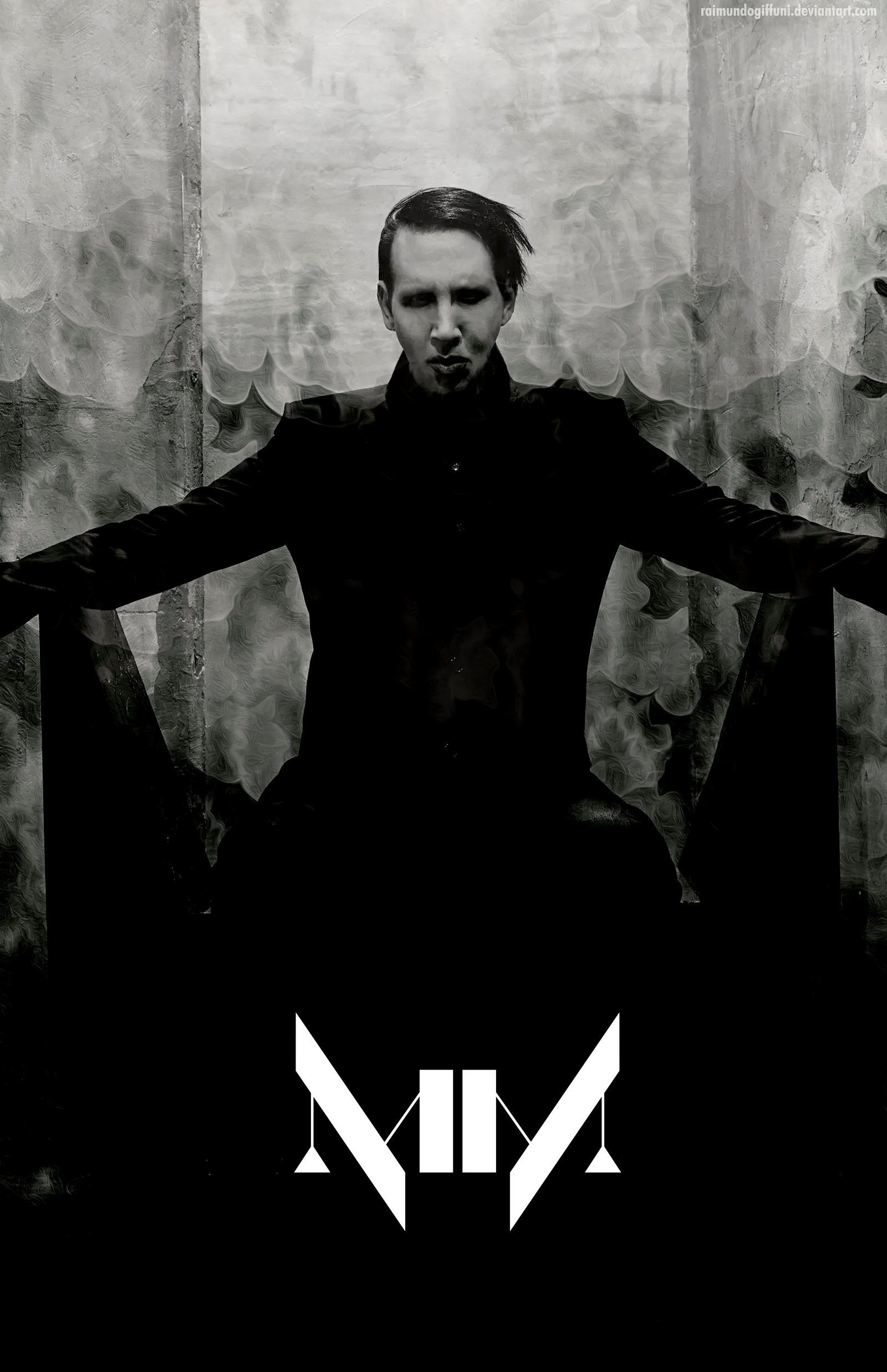 Marilyn Manson Iphone Wallpapers Top Free Marilyn Manson