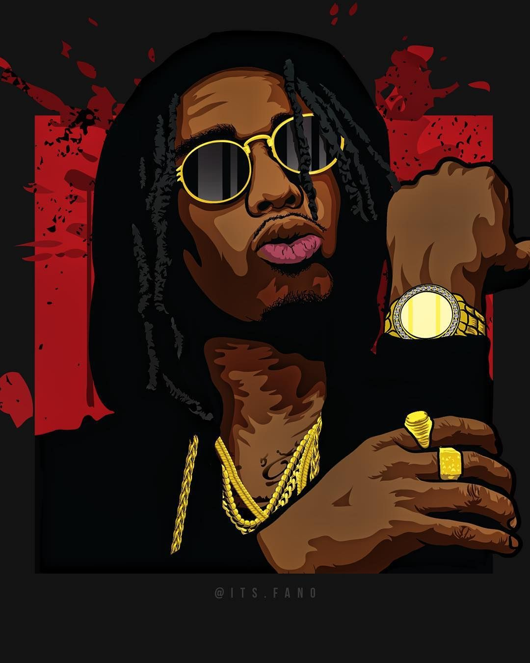 Migos Cartoon Wallpapers - Top Free Migos Cartoon