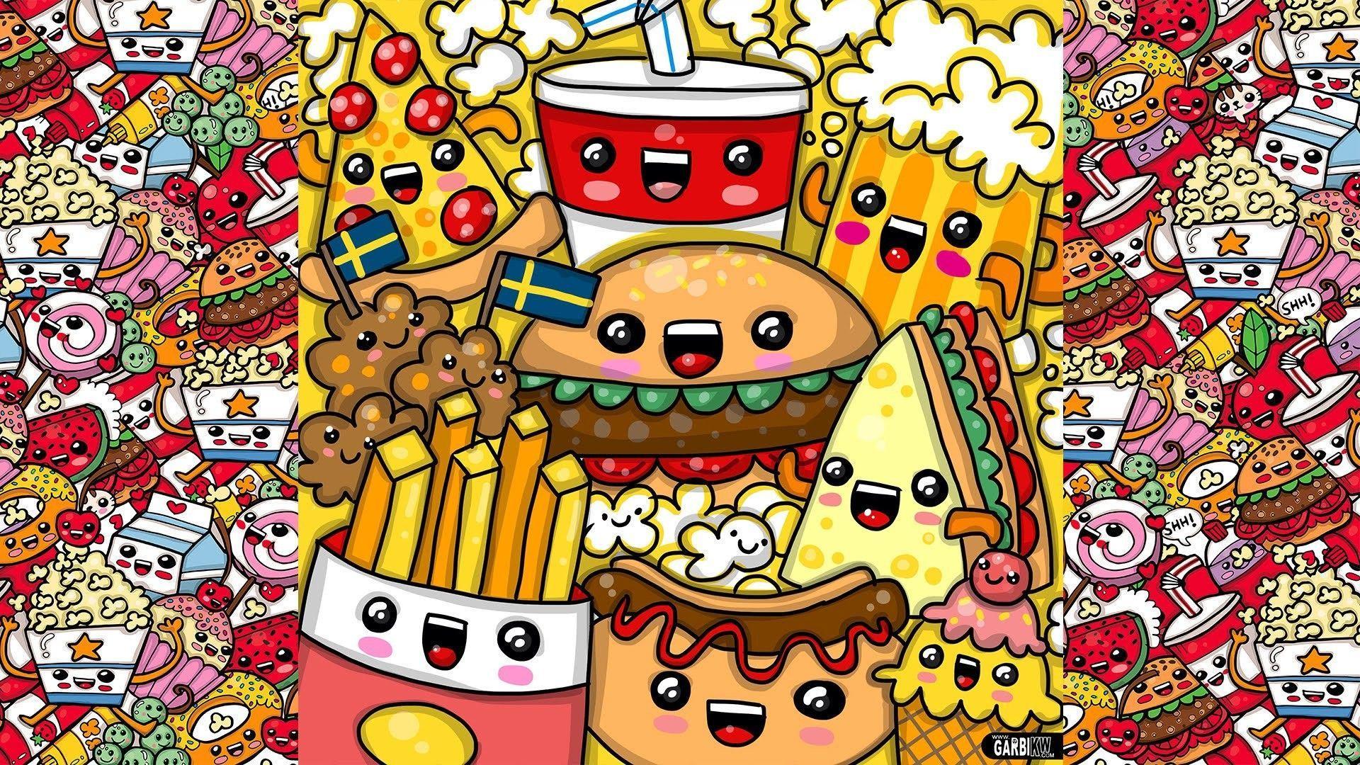 Kawaii Food Wallpapers Top Free Kawaii Food Backgrounds
