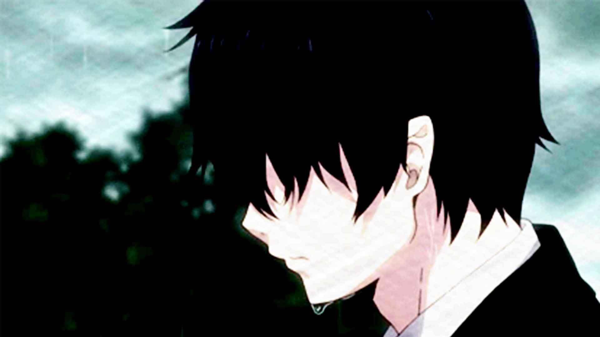 Hoodie Depressed Heart Broken Anime Boy Hoodie And Sweater