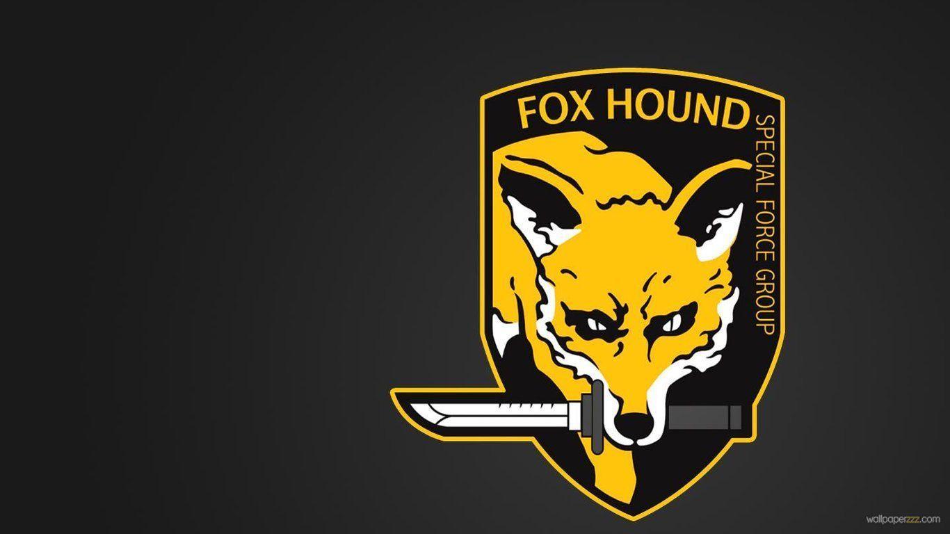 Fox logo wallpapers top free fox logo backgrounds - Foxhound metal gear wallpaper ...