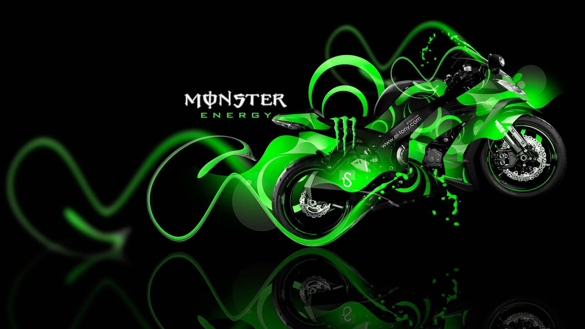 Kawasaki Monster Energy Wallpapers Top Free Kawasaki