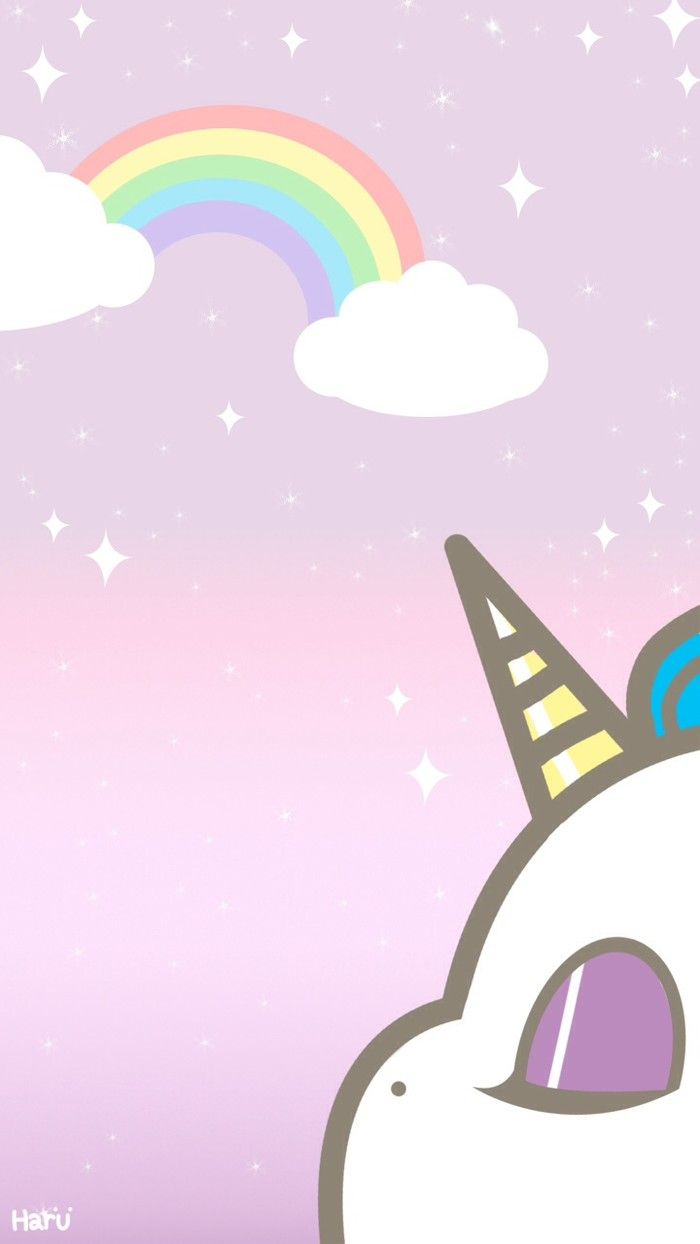 Cute Rainbow Unicorn Wallpapers Top Free Cute Rainbow