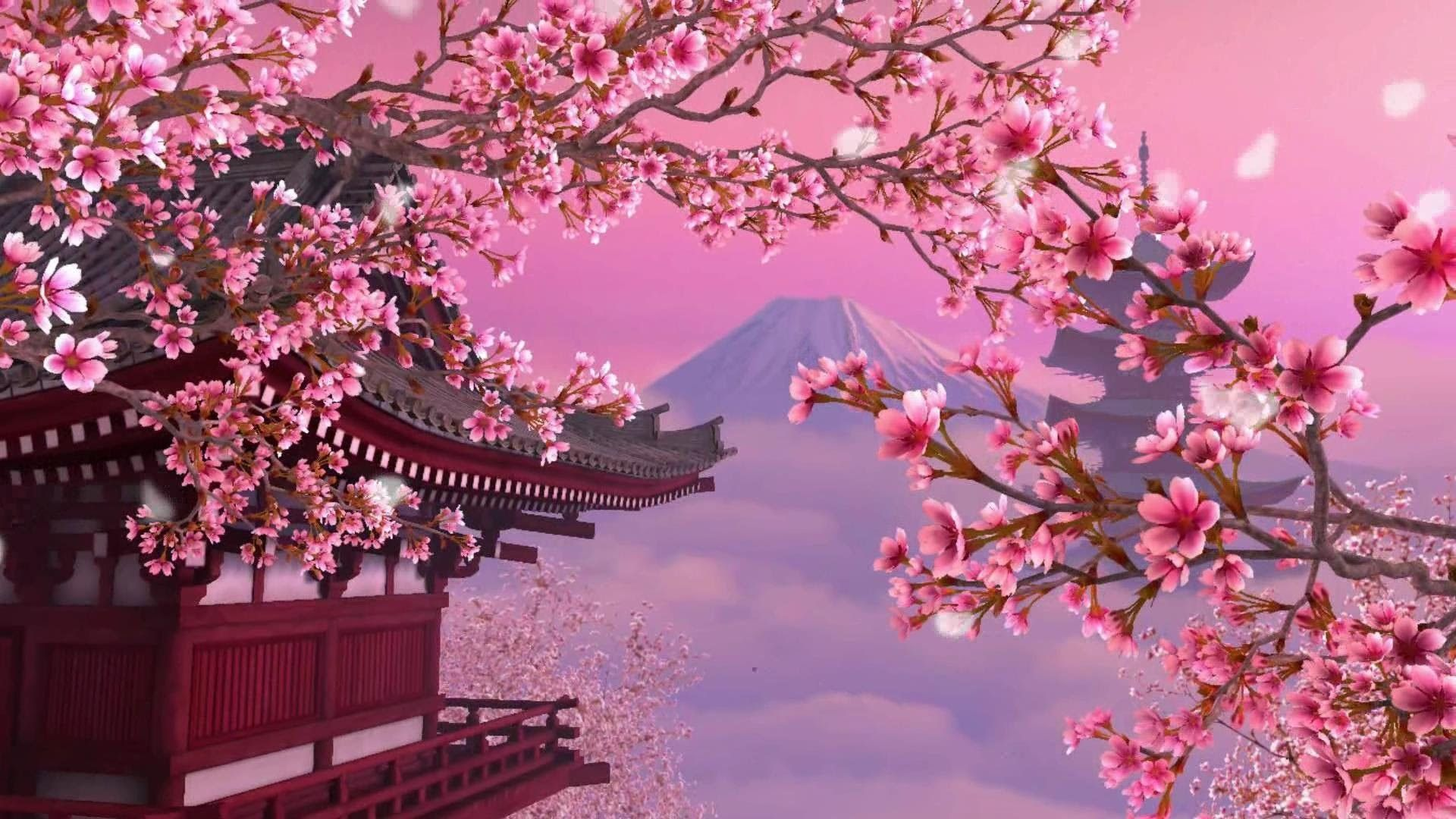 Spring Cherry Blossoms Desktop Wallpapers - Top Free ...
