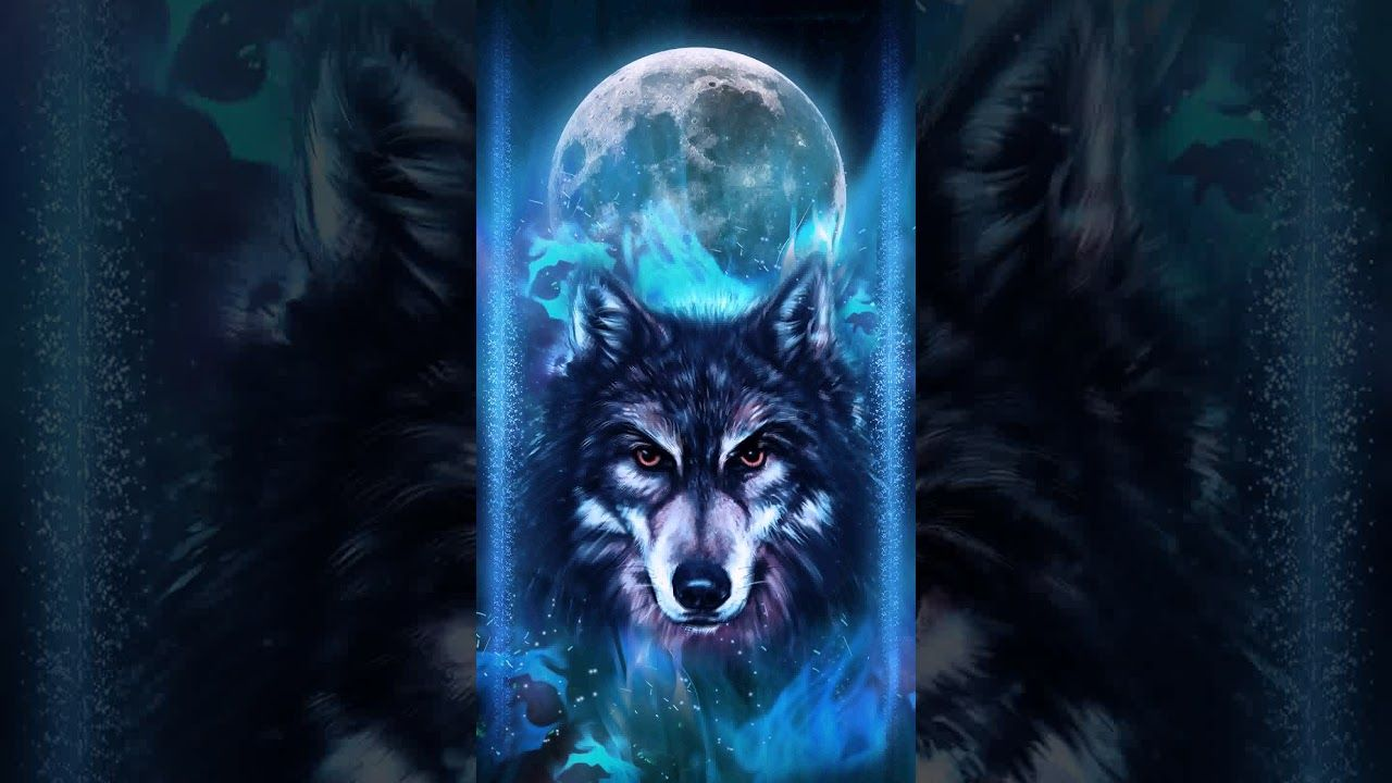 Neon Wolf Wallpapers Top Free Neon Wolf Backgrounds Wallpaperaccess