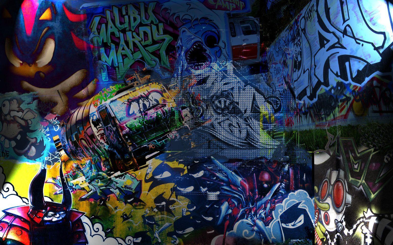 Restaurant Wallpaper Graffiti Photo Wall Mural D Brick Backsplash
