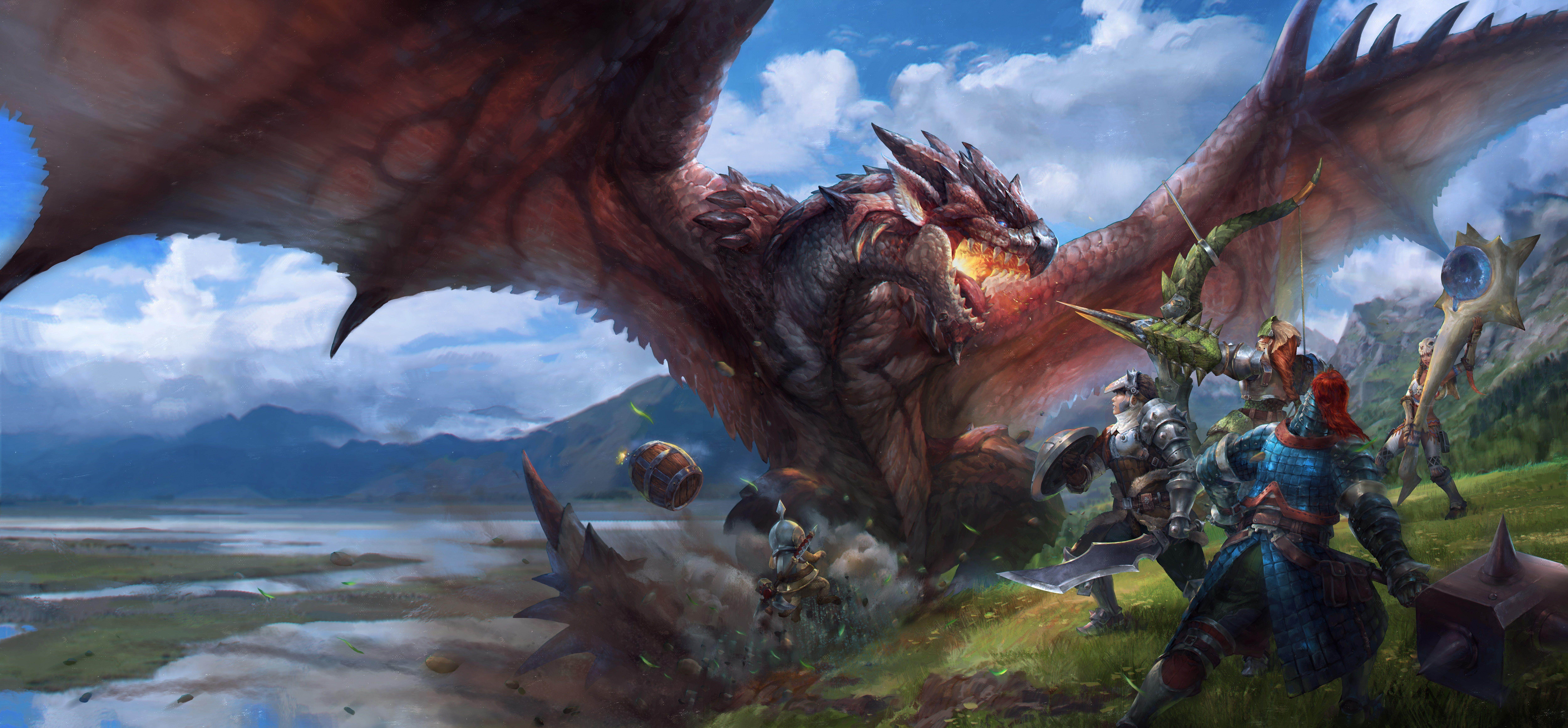 Monster Hunter 4k Wallpapers Top Free Monster Hunter 4k