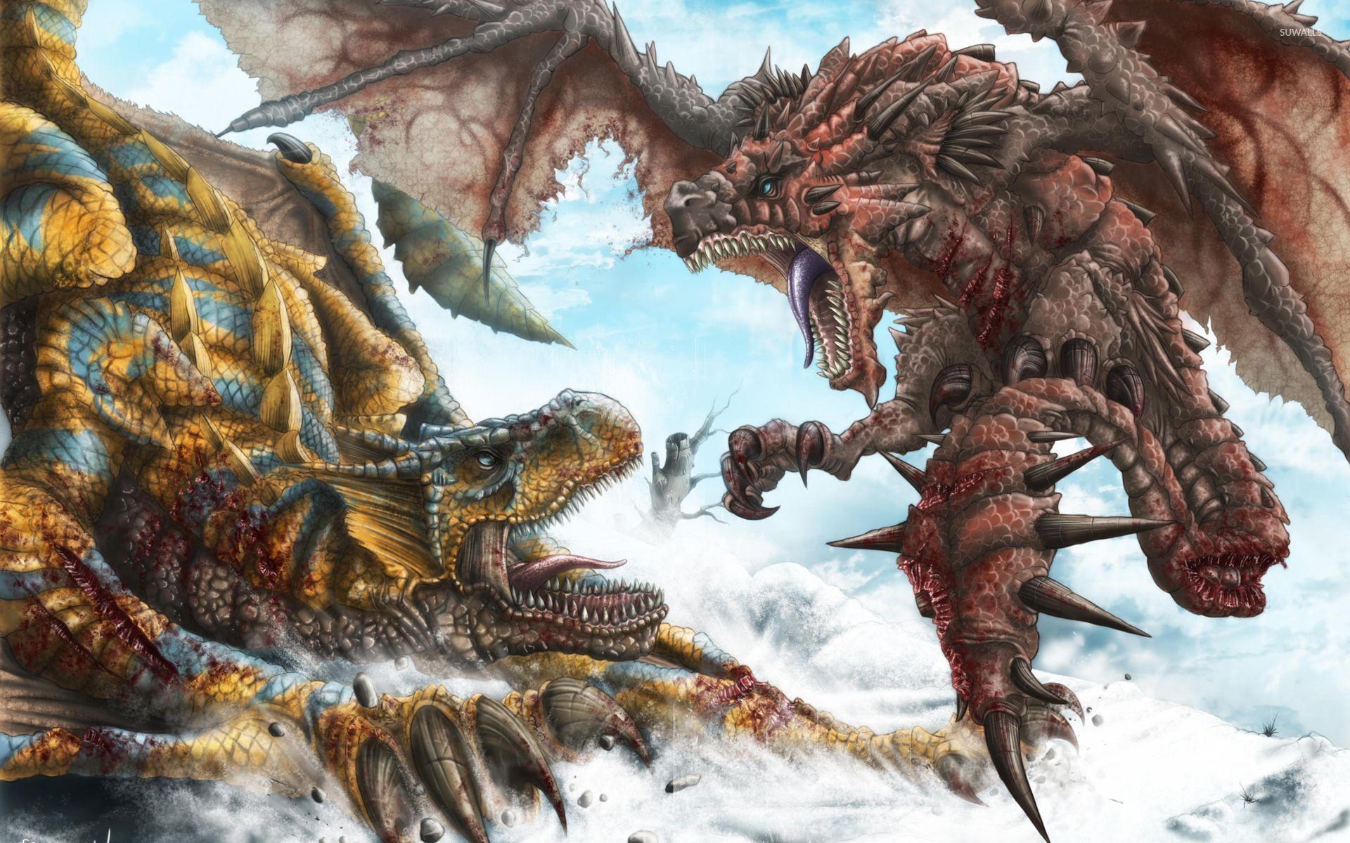 Monster Hunter 4K Wallpapers