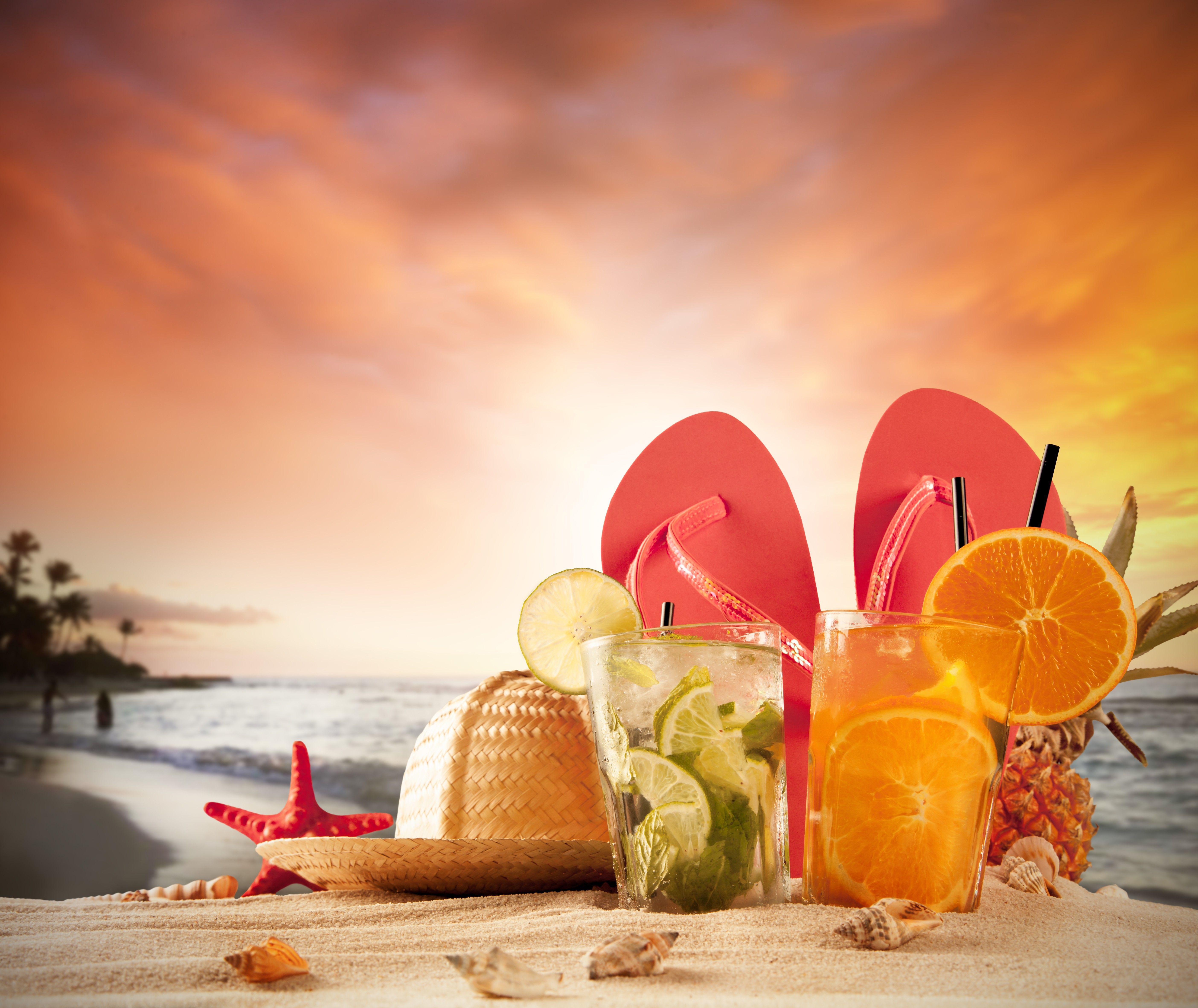 Summer Drinks Wallpapers